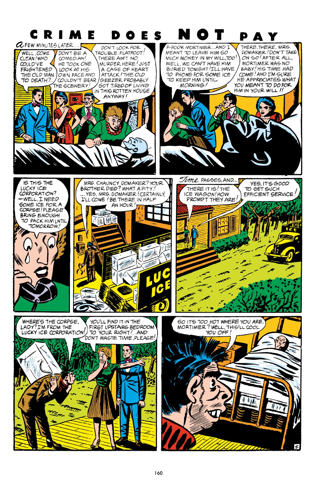 Read online Crime Does Not Pay Archives comic -  Issue # TPB 5 (Part 2) - 60