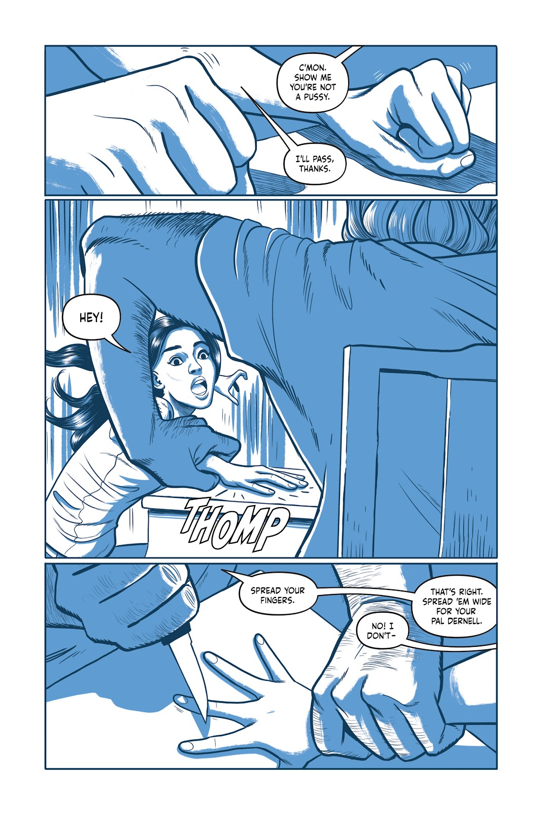 Read online Under the Moon: A Catwoman Tale comic -  Issue # TPB (Part 1) - 18