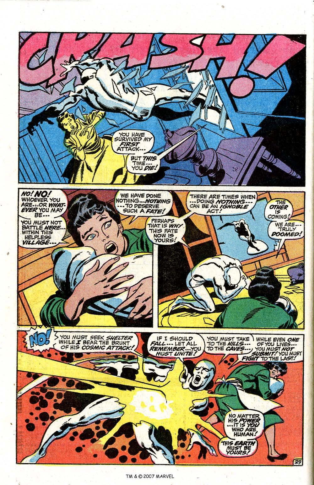 Read online Silver Surfer (1968) comic -  Issue #7 - 36