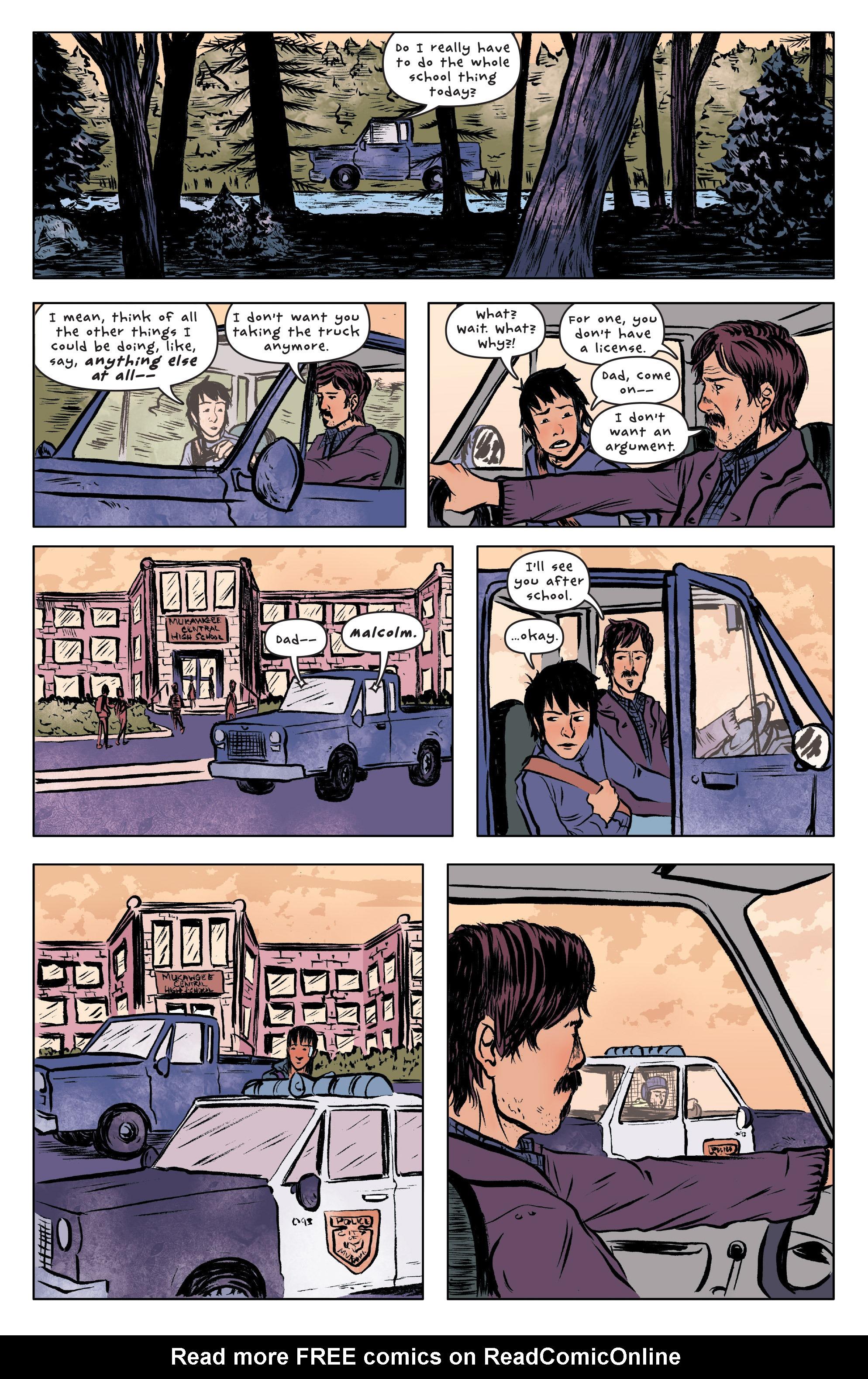 Read online UFOlogy comic -  Issue #3 - 8