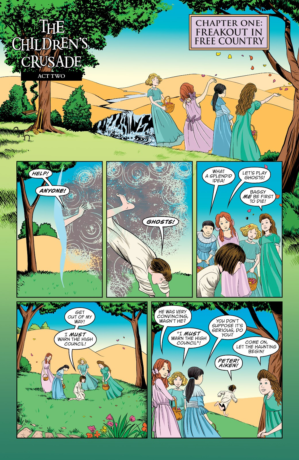 Read online The Children's Crusade comic -  Issue # _TPB (Part 1) - 62