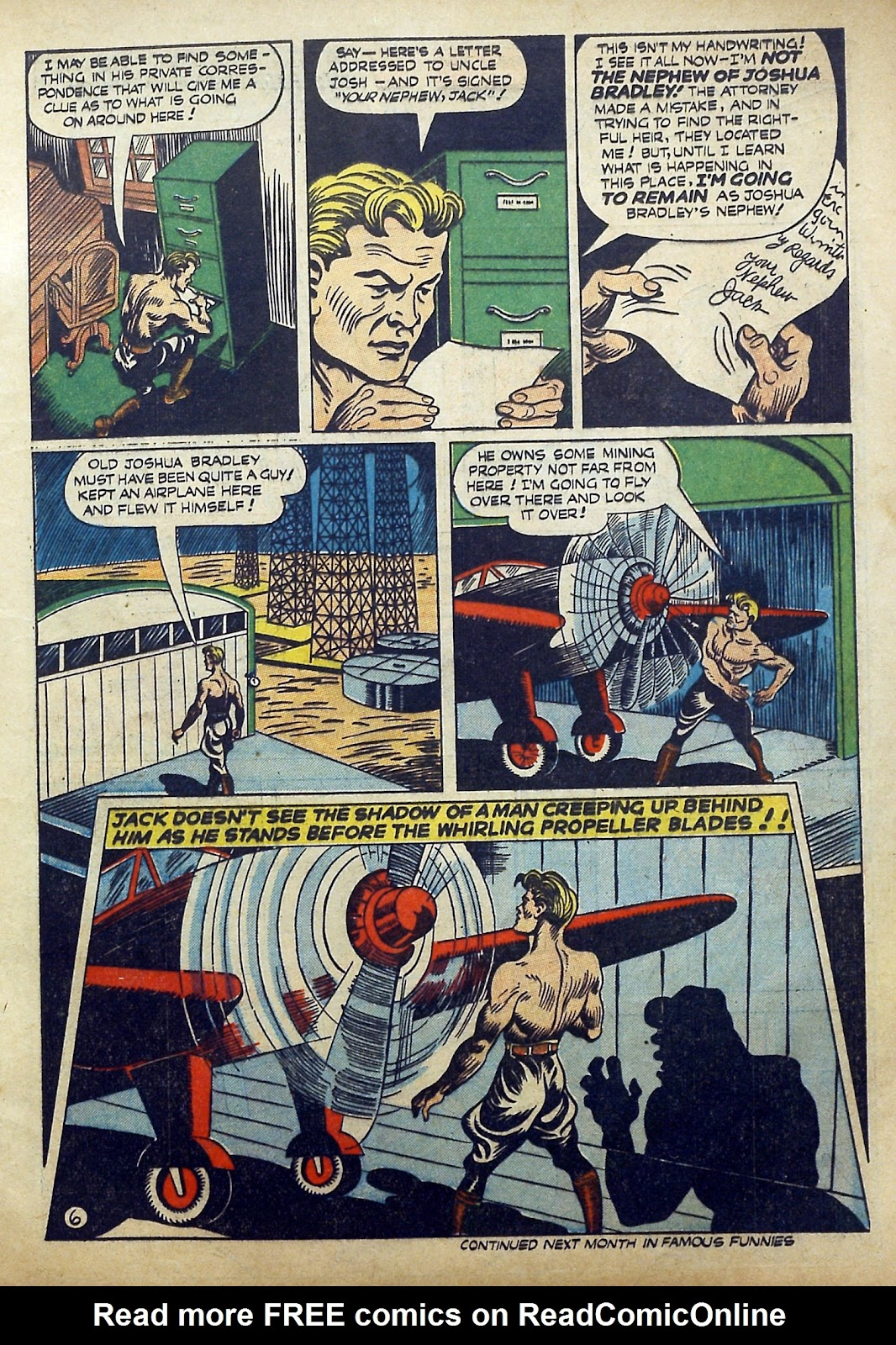 Read online Famous Funnies comic -  Issue #97 - 16
