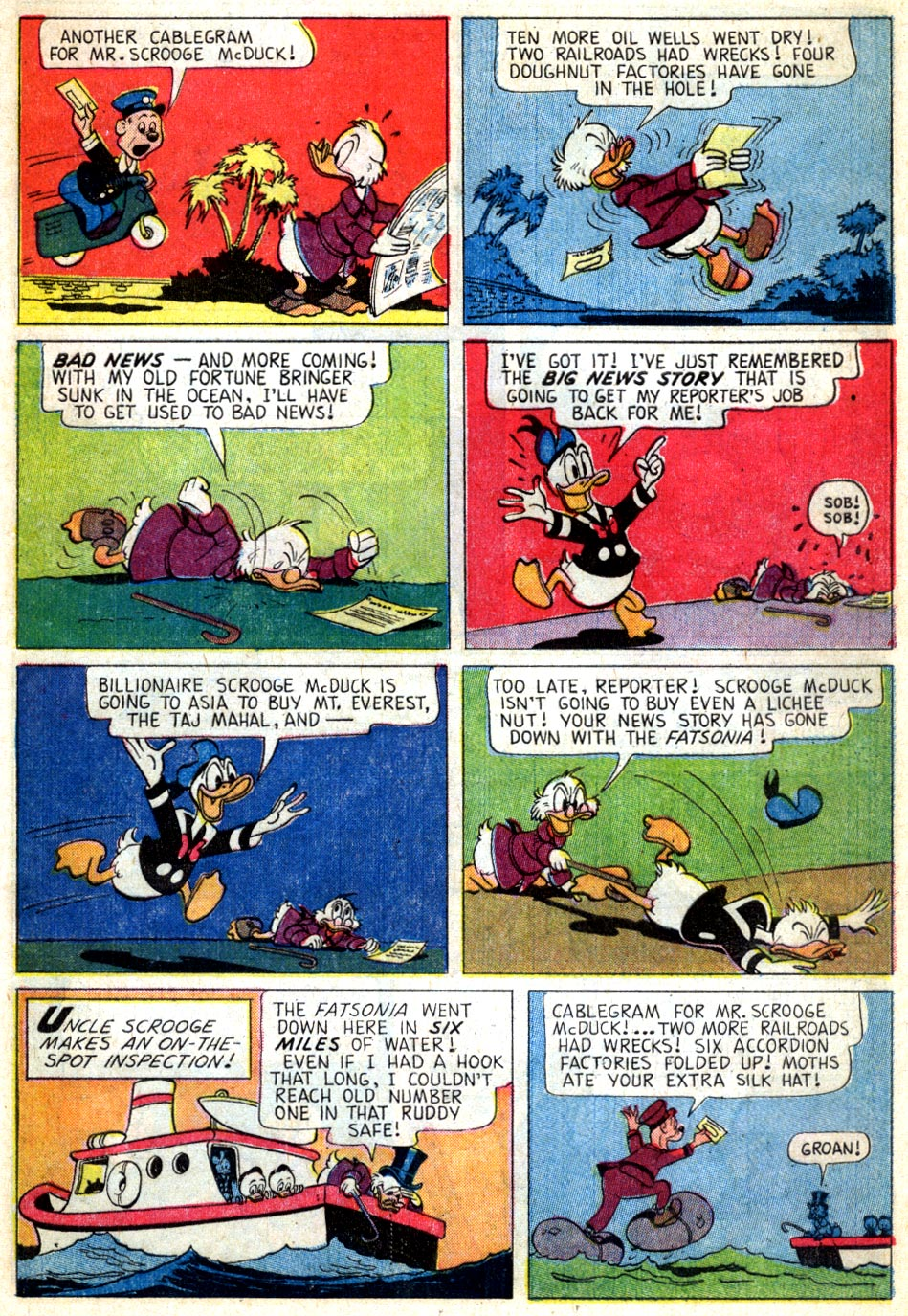 Read online Uncle Scrooge (1953) comic -  Issue #46 - 9