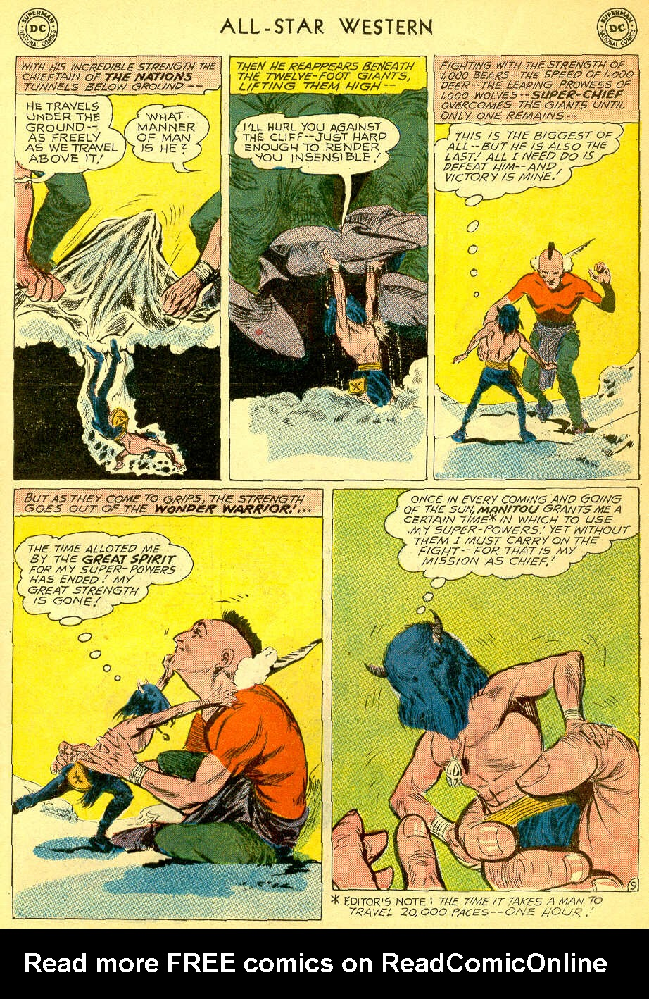 Read online All-Star Western (1951) comic -  Issue #118 - 29