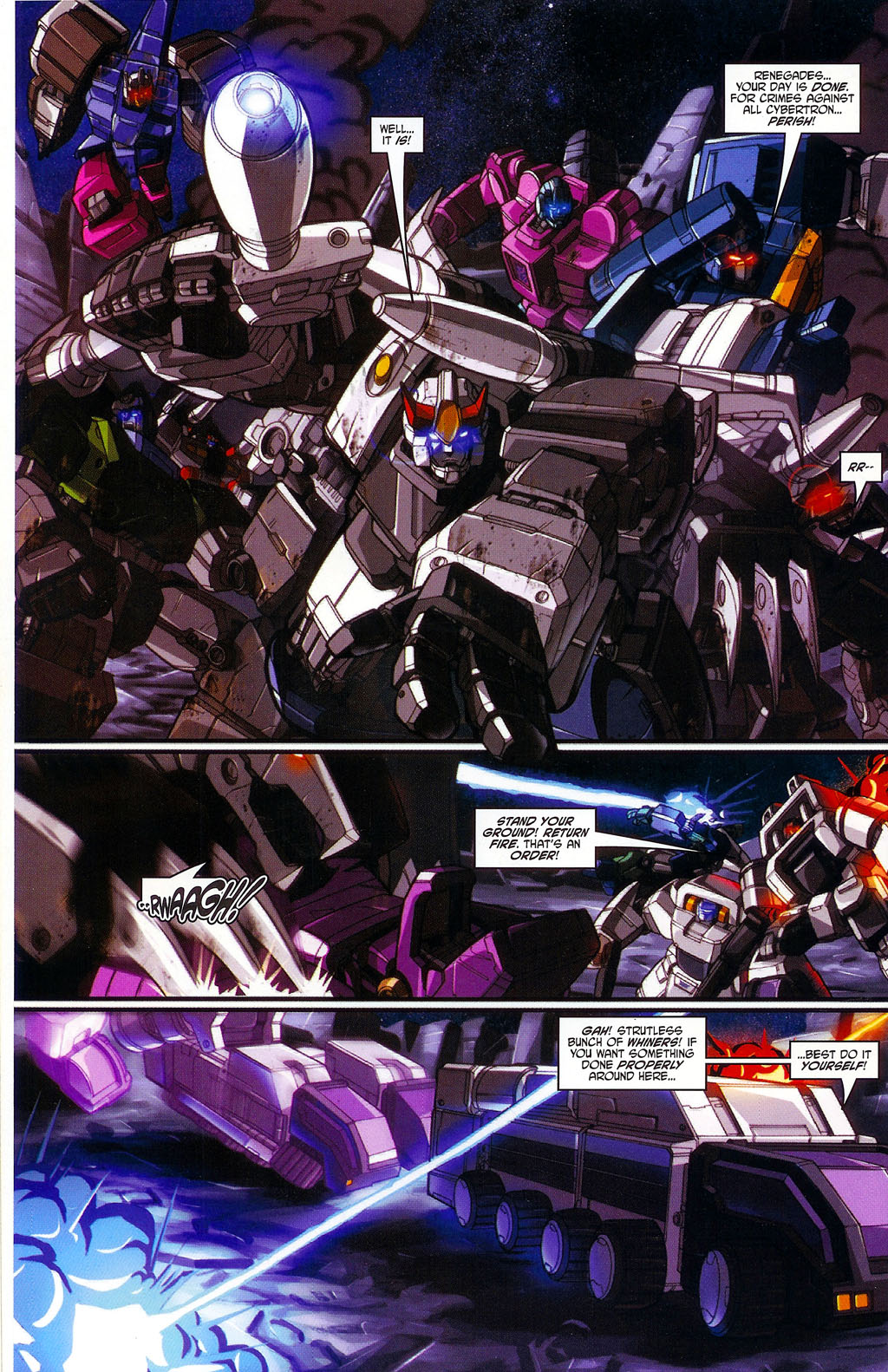 """Read online Transformers War Within: """"The Age of Wrath"""" comic -  Issue #1 - 21"""