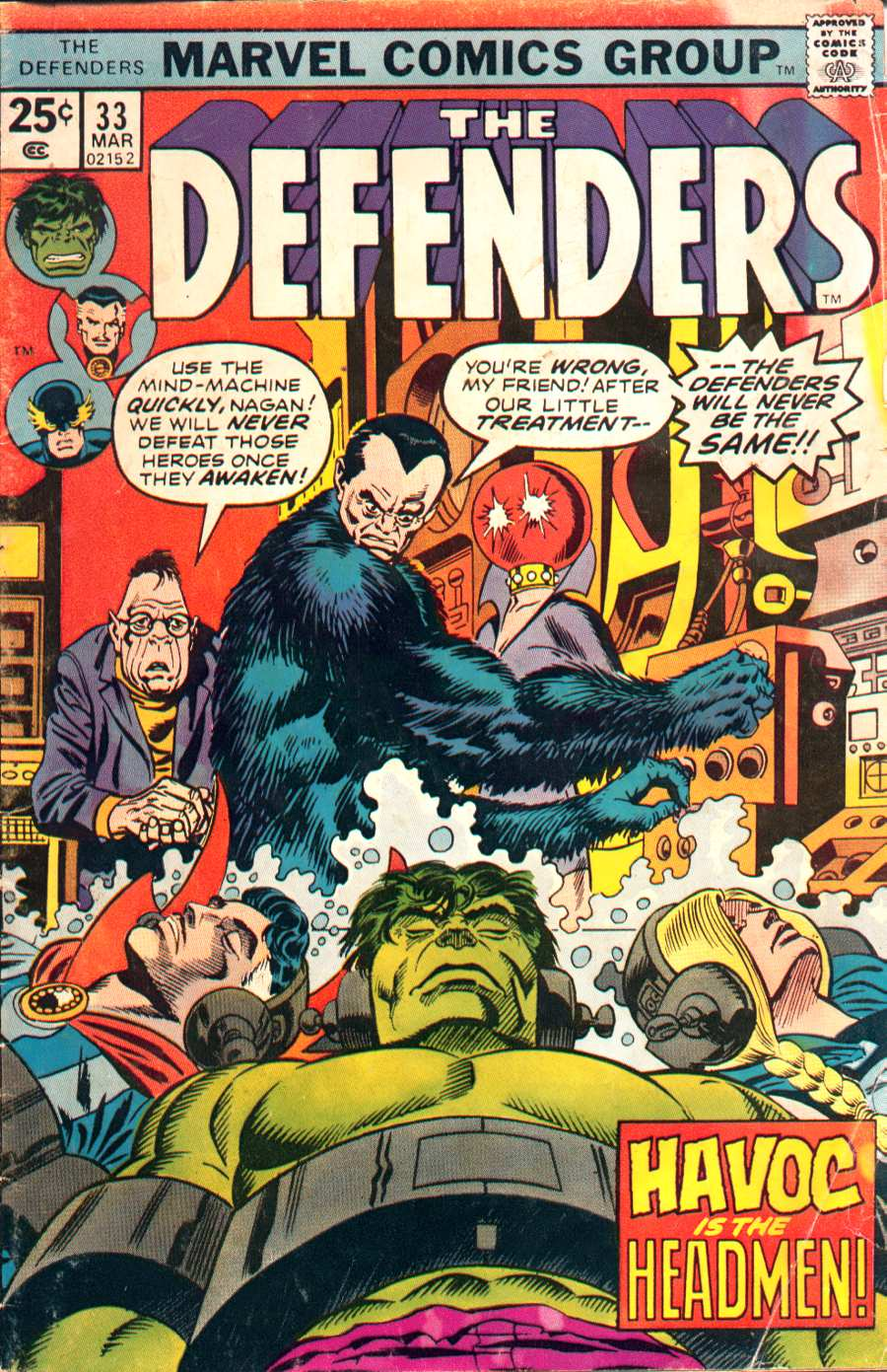 The Defenders (1972) issue 33 - Page 1