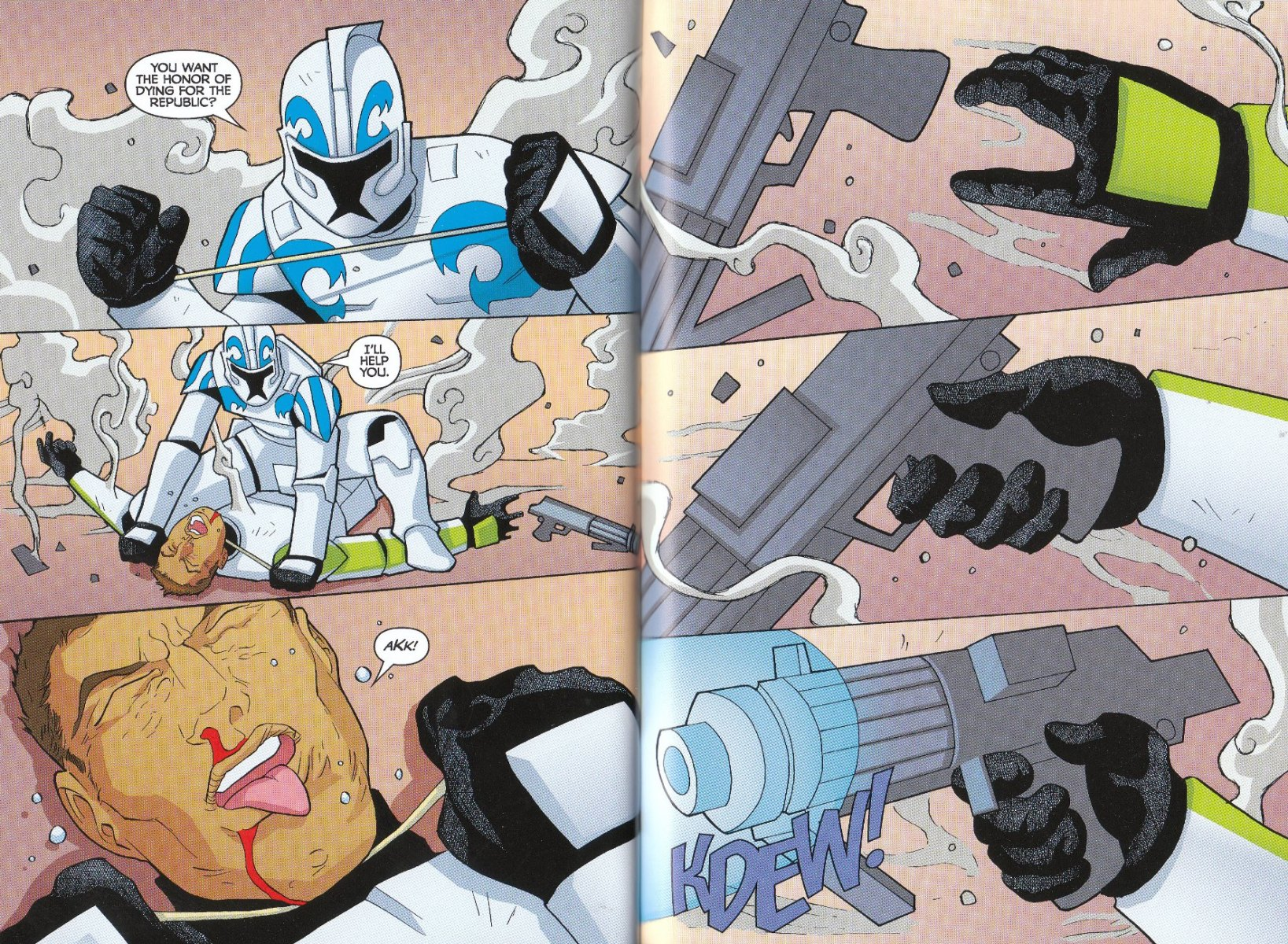 Read online Star Wars: The Clone Wars - The Enemy Within comic -  Issue # Full - 32