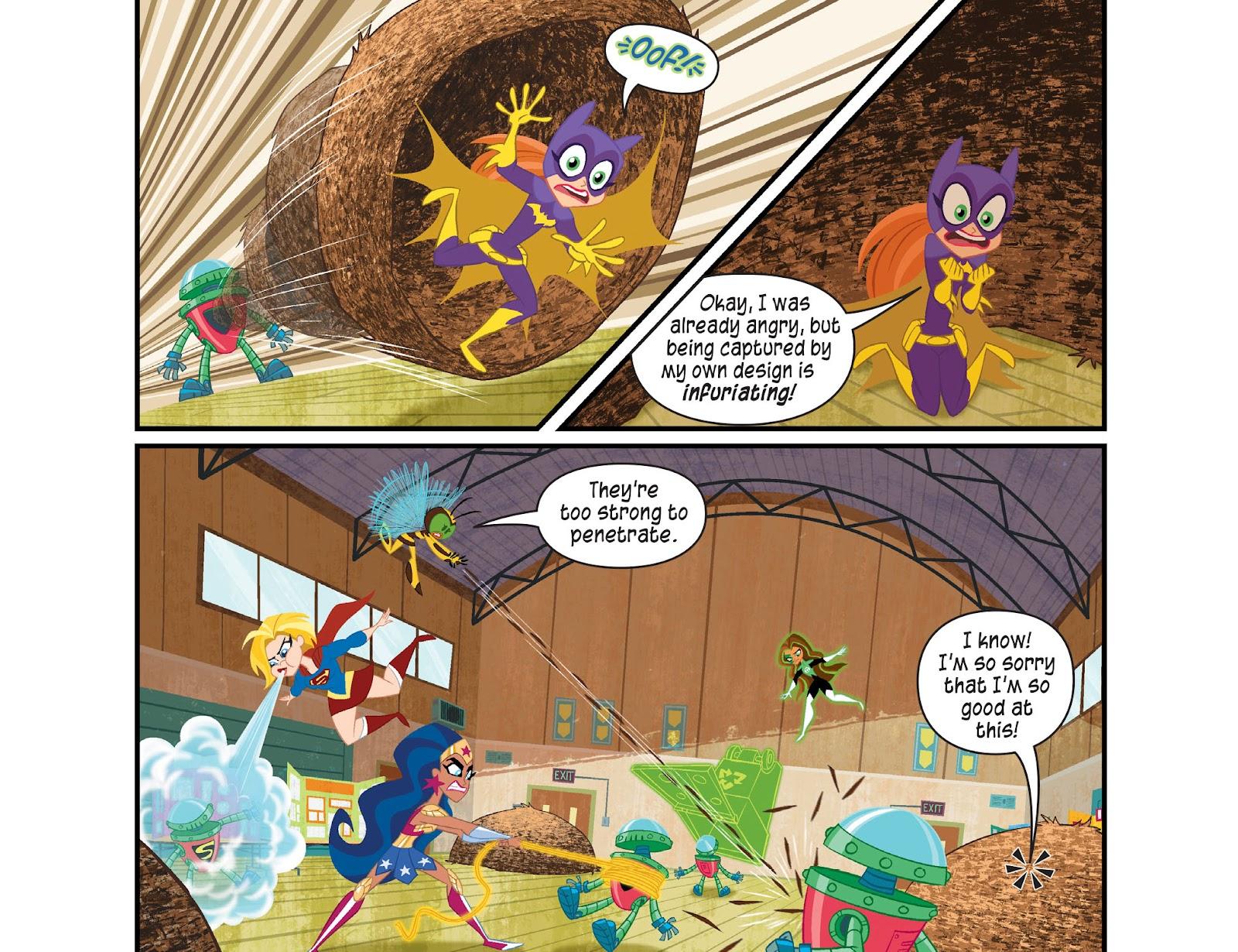 Read online DC Super Hero Girls: Weird Science comic -  Issue #14 - 14