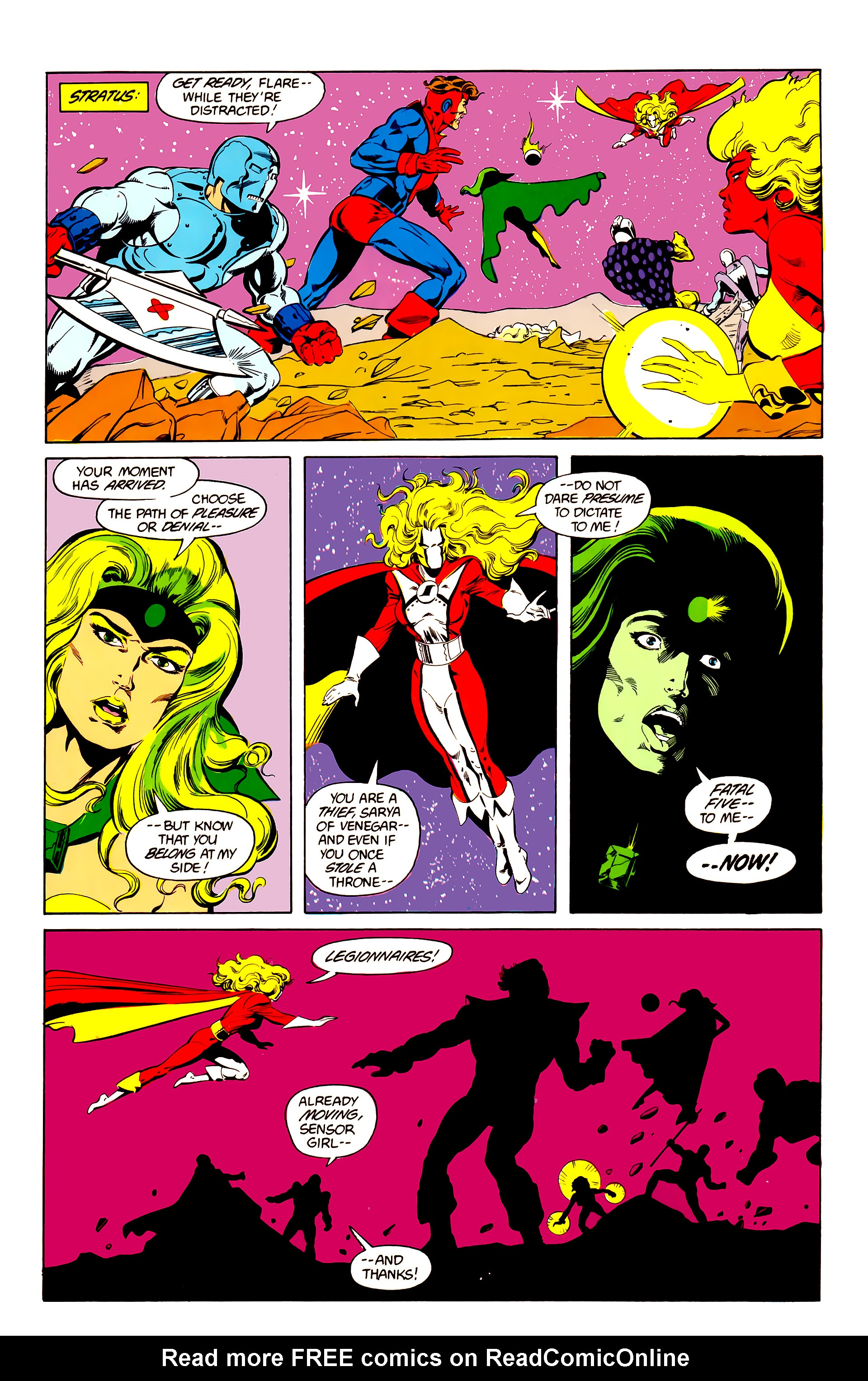 Legion of Super-Heroes (1984) 25 Page 25
