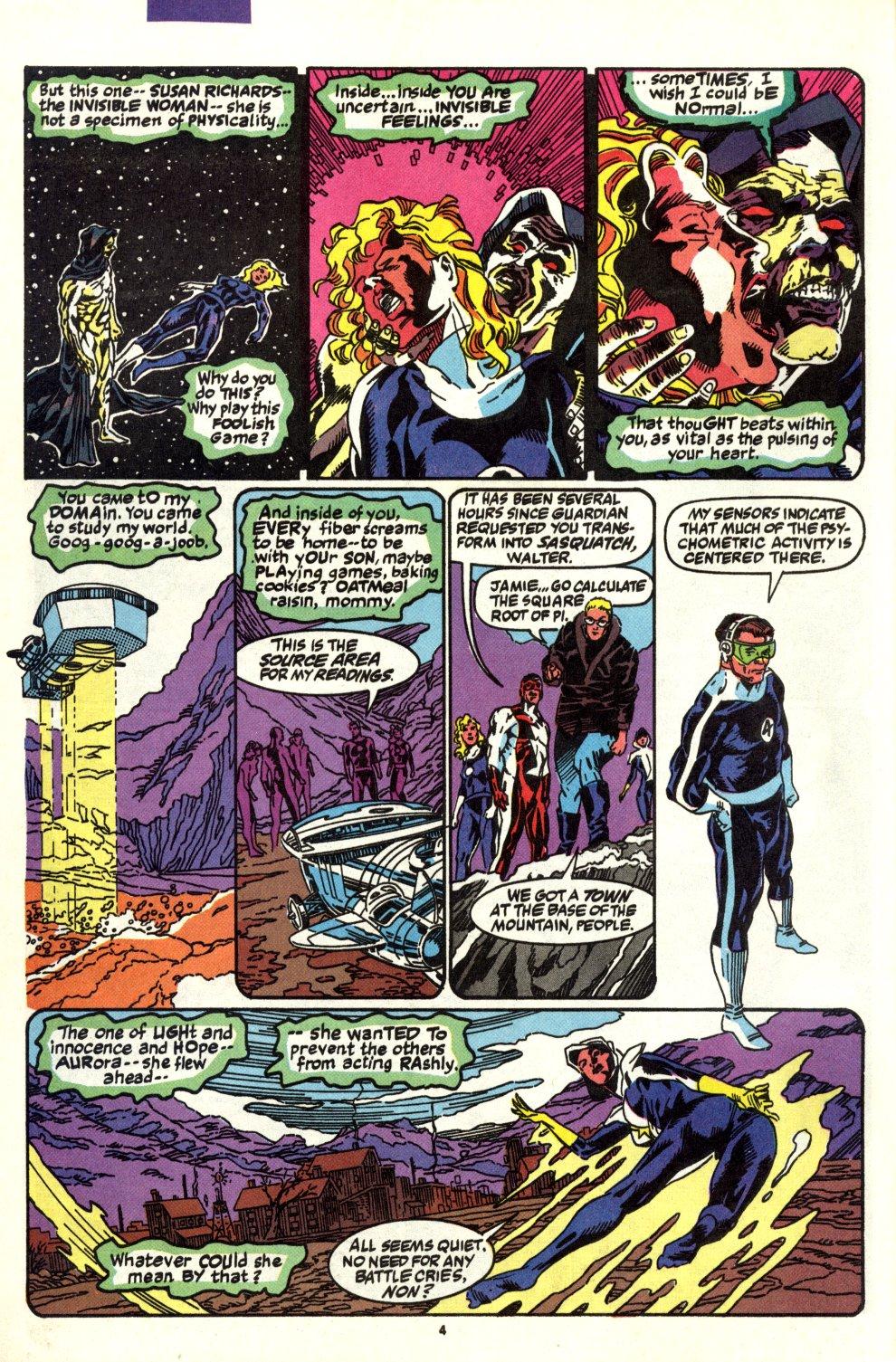 Read online Alpha Flight (1983) comic -  Issue #93 - 5