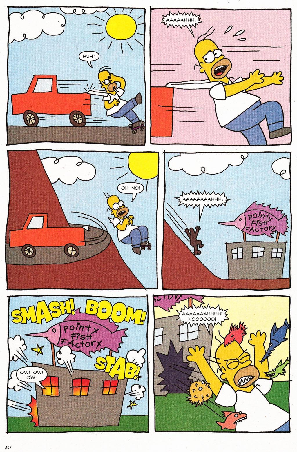 Read online Simpsons Comics comic -  Issue #124 - 25