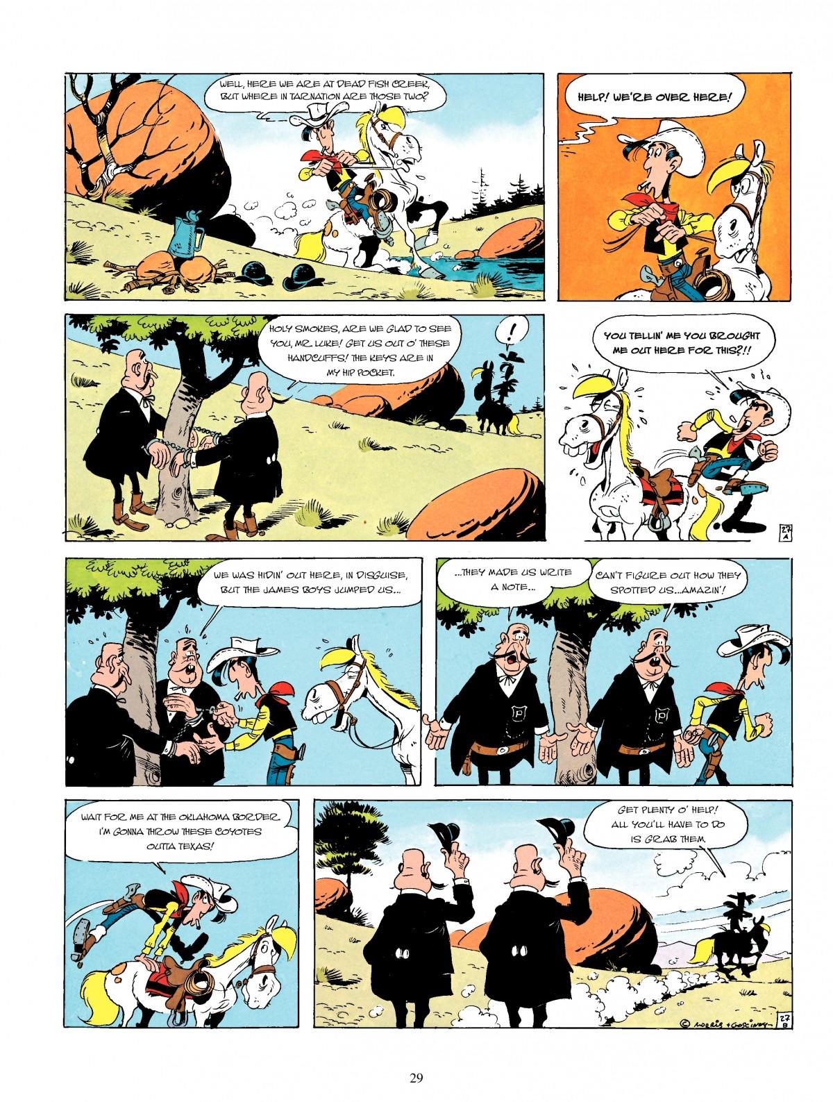Read online A Lucky Luke Adventure comic -  Issue #4 - 31