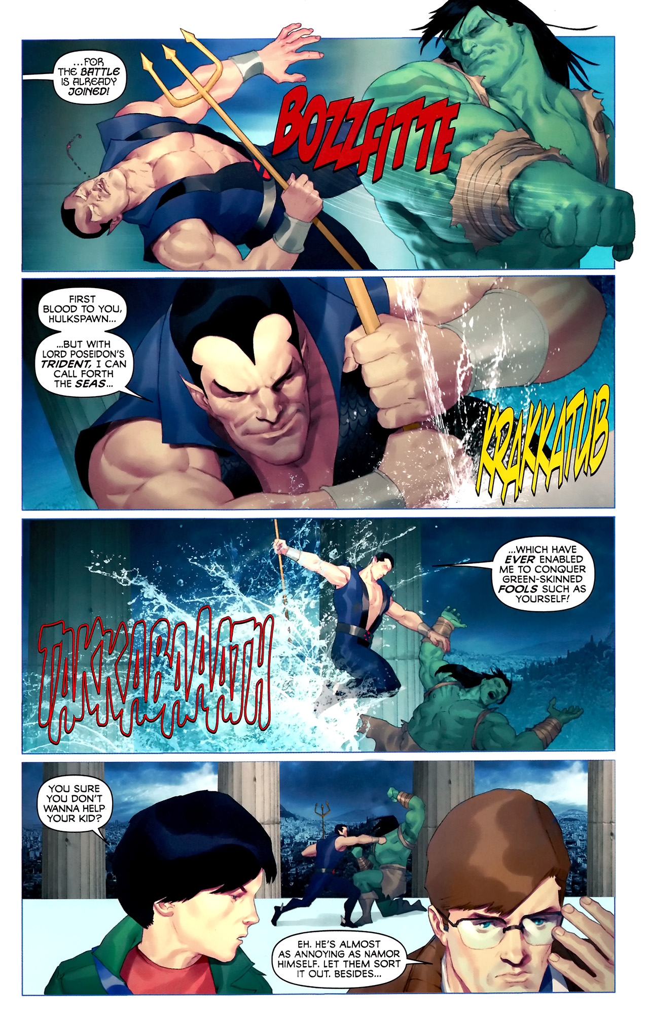 Read online Hercules: Fall of an Avenger comic -  Issue #2 - 11