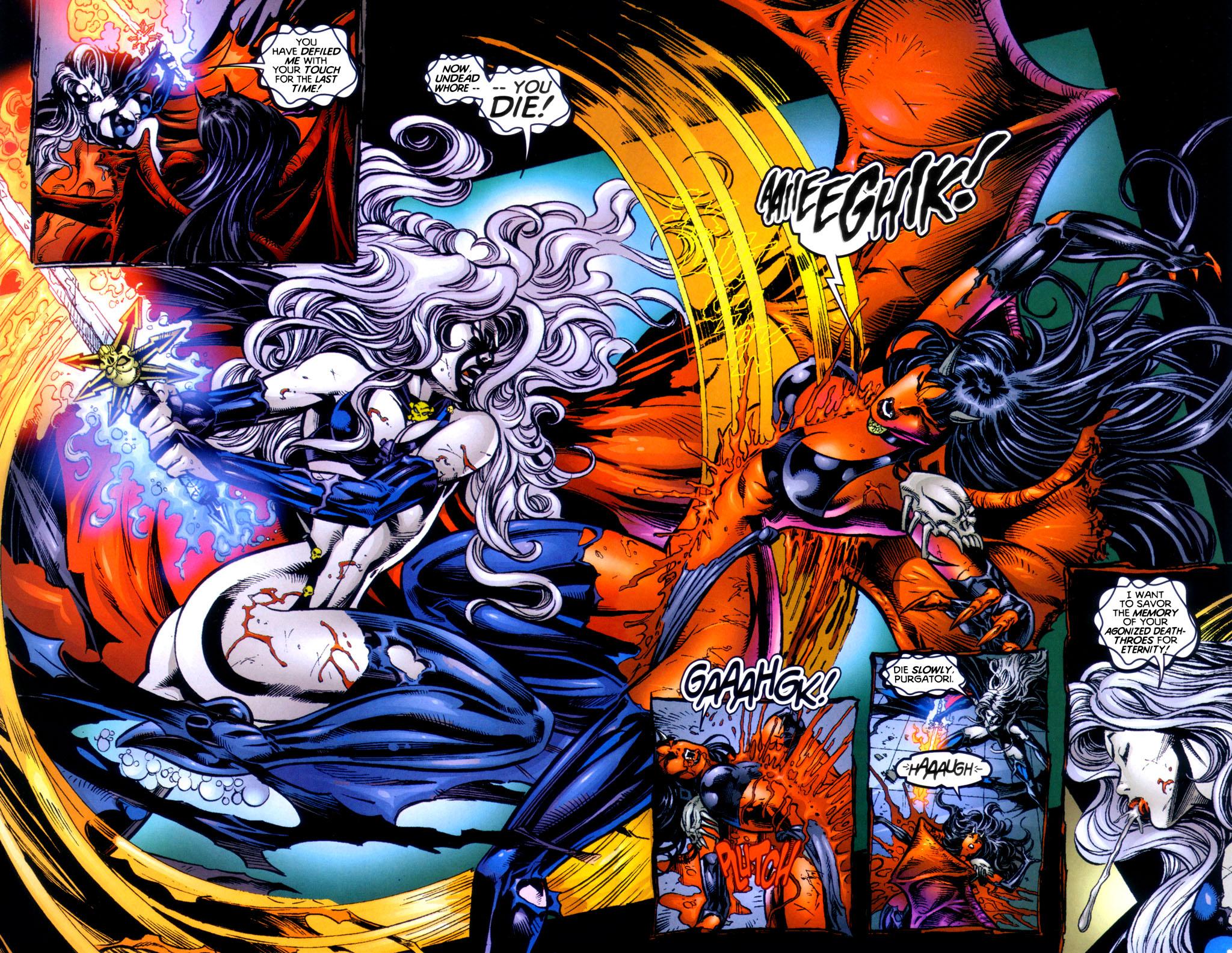 Read online Lady Death vs. Purgatori comic -  Issue # Full - 14