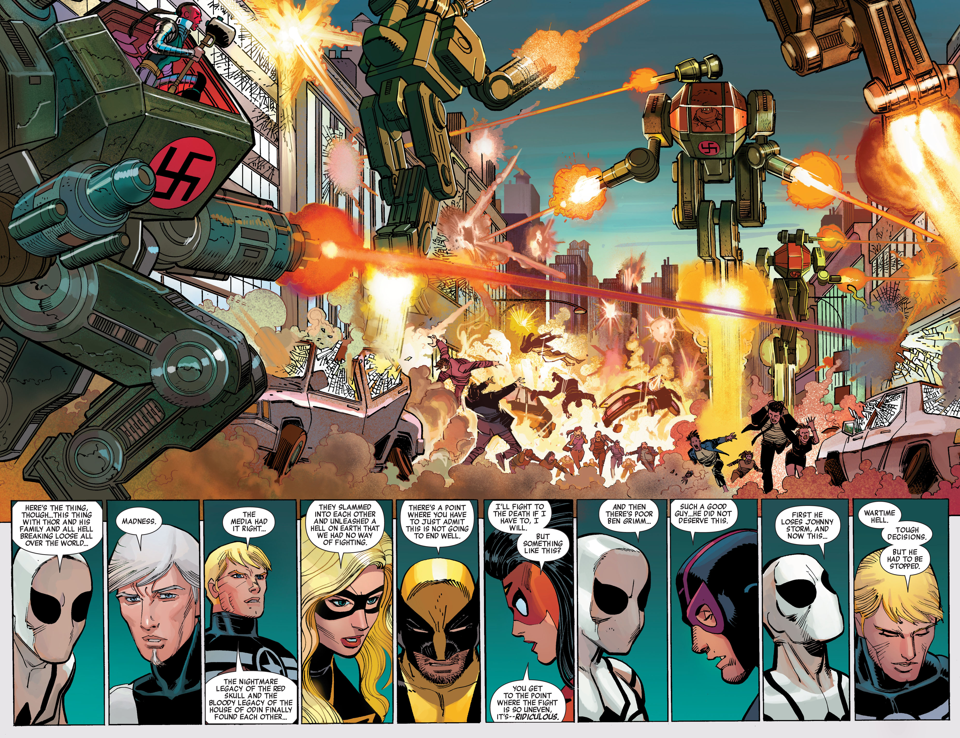Read online Avengers (2010) comic -  Issue #14 - 5