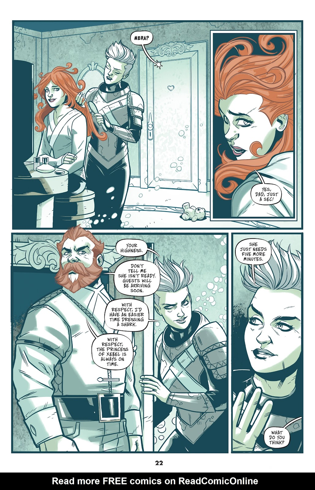 Read online Mera: Tidebreaker comic -  Issue # TPB (Part 1) - 22