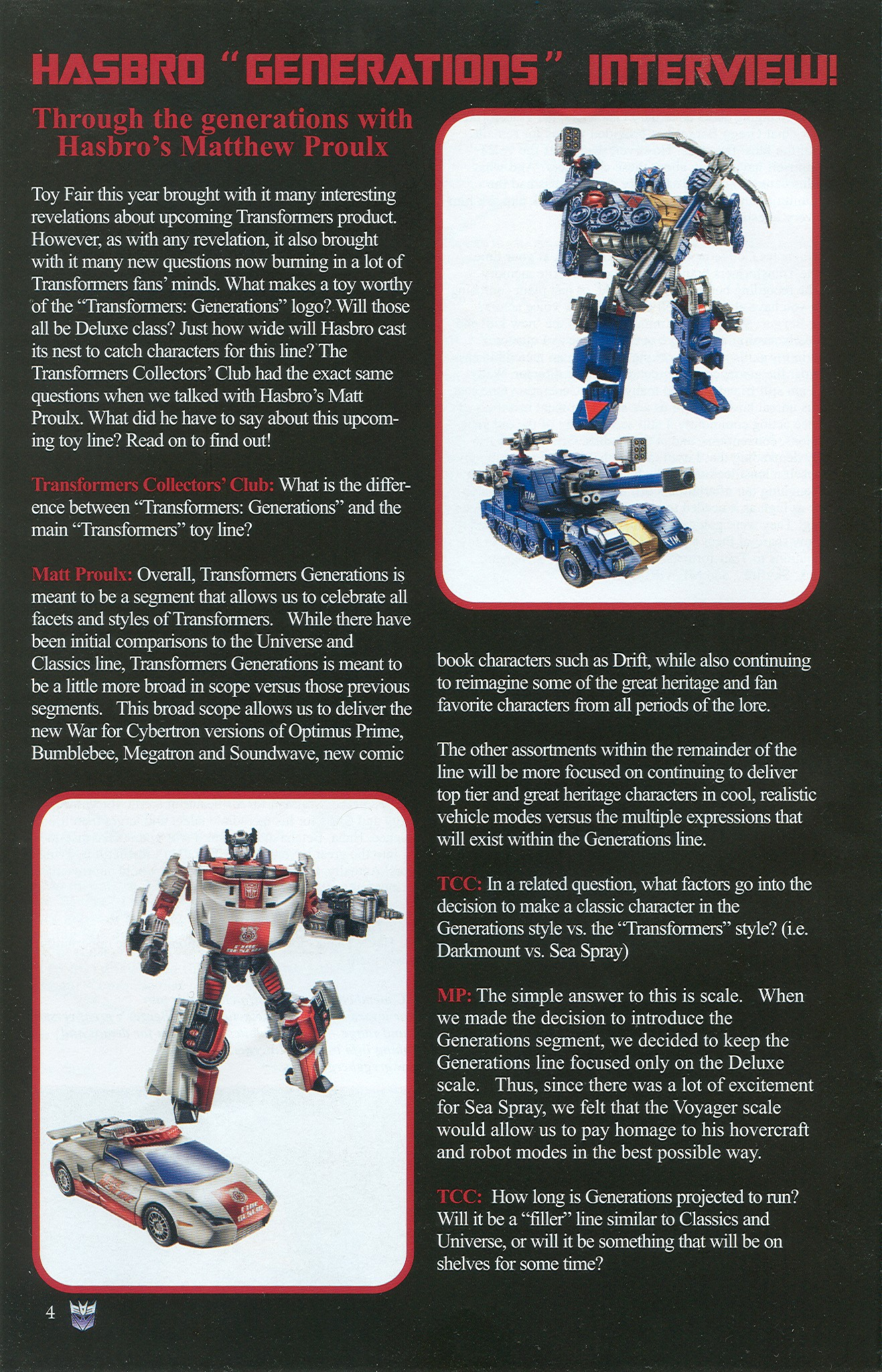Read online Transformers: Collectors' Club comic -  Issue #33 - 4