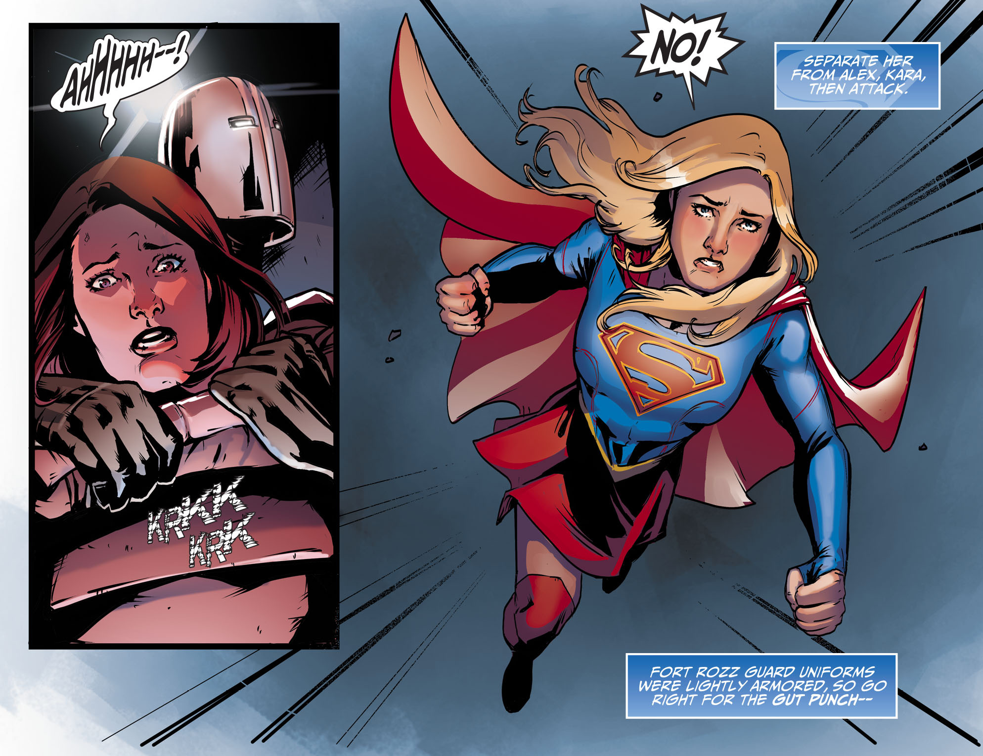Read online Adventures of Supergirl comic -  Issue #9 - 12