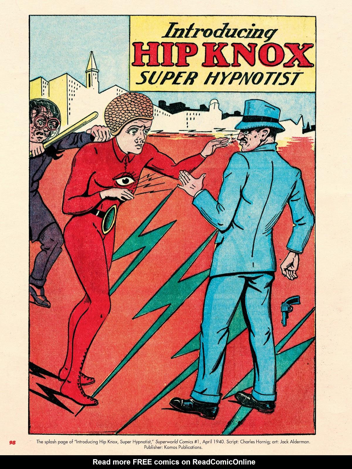 Read online Super Weird Heroes comic -  Issue # TPB 2 (Part 1) - 98