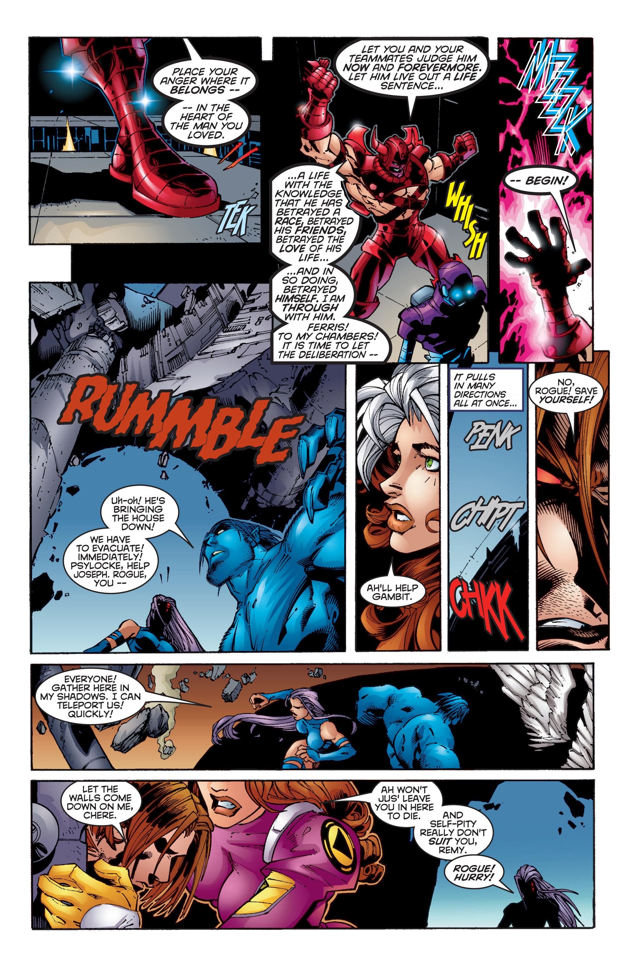 Read online Uncanny X-Men (1963) comic -  Issue #350 - 34