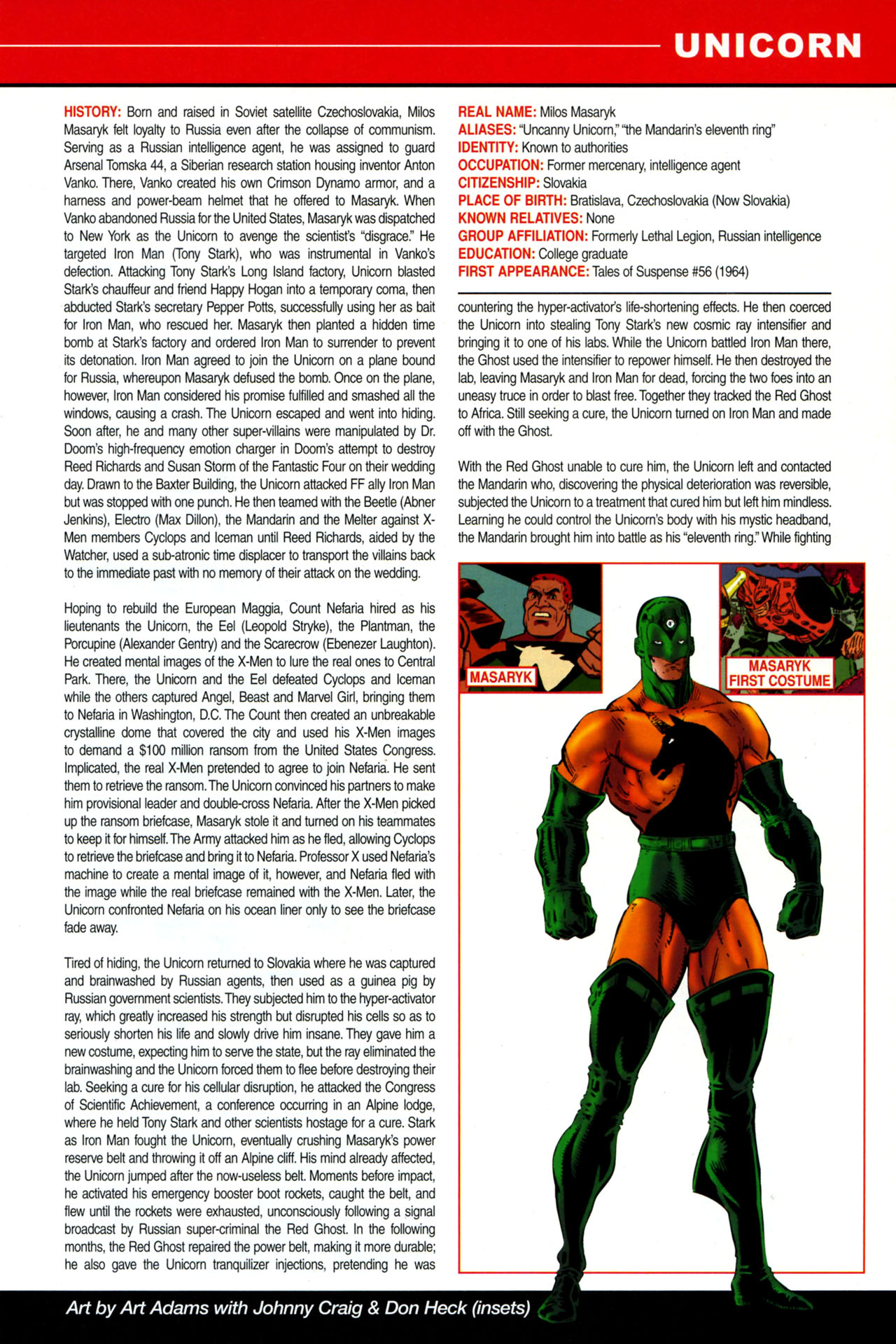 Read online All-New Official Handbook of the Marvel Universe A to Z: Update comic -  Issue #4 - 57