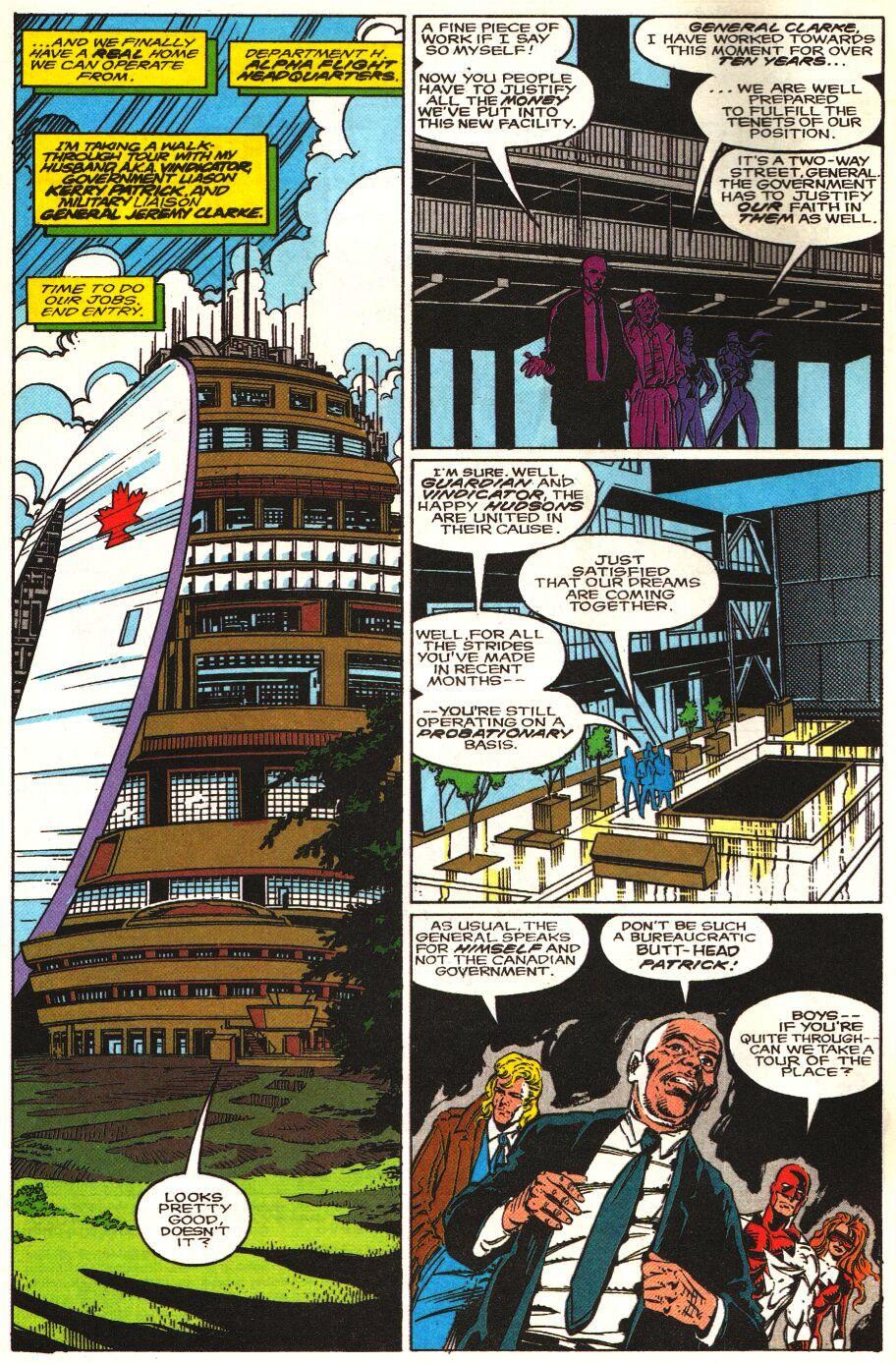Read online Alpha Flight Special comic -  Issue #1 - 3