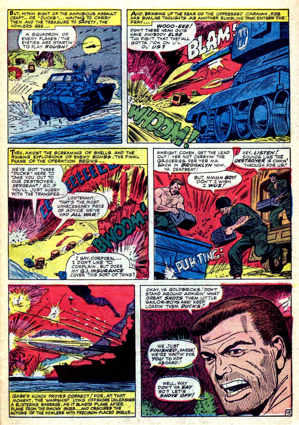 Read online Sgt. Fury comic -  Issue #30 - 27