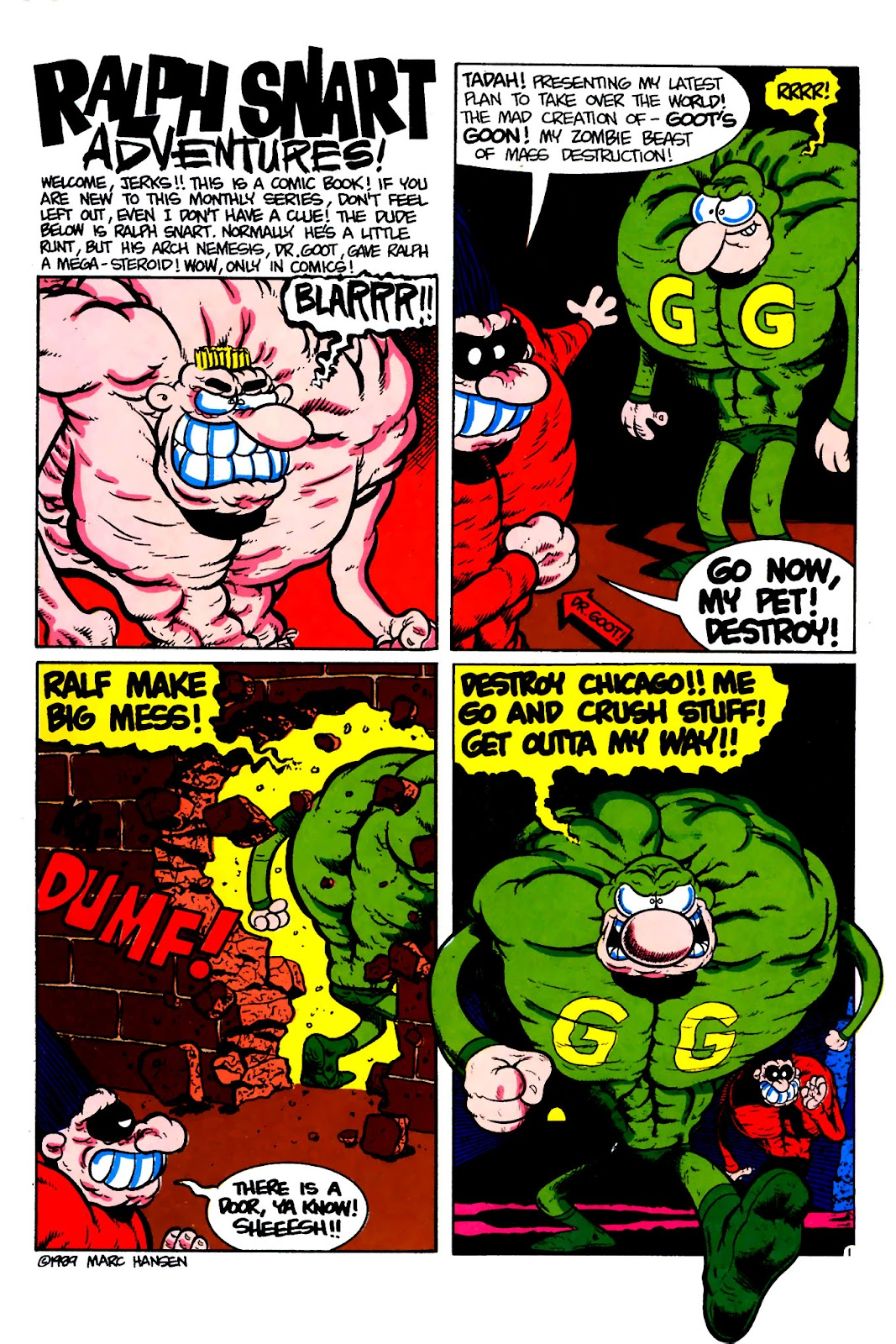 Ralph Snart Adventures (1988) issue 16 - Page 3