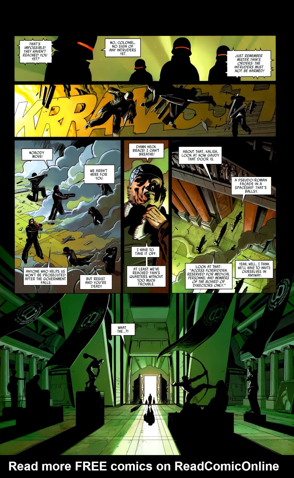 Read online Universal War One: Revelations comic -  Issue #3 - 29