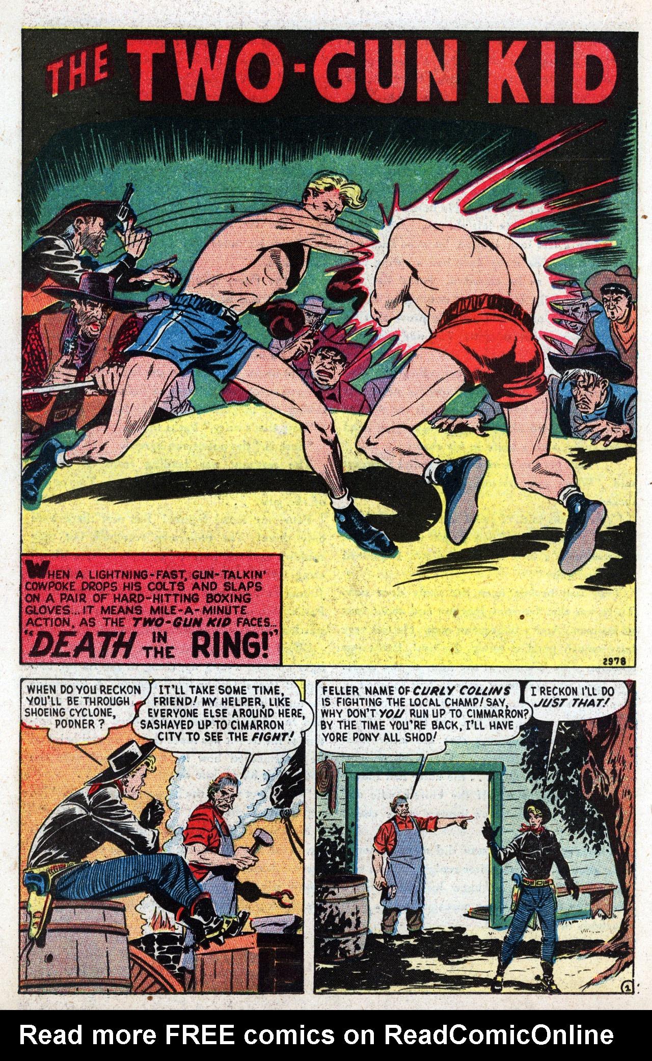Read online Two-Gun Kid comic -  Issue #3 - 22
