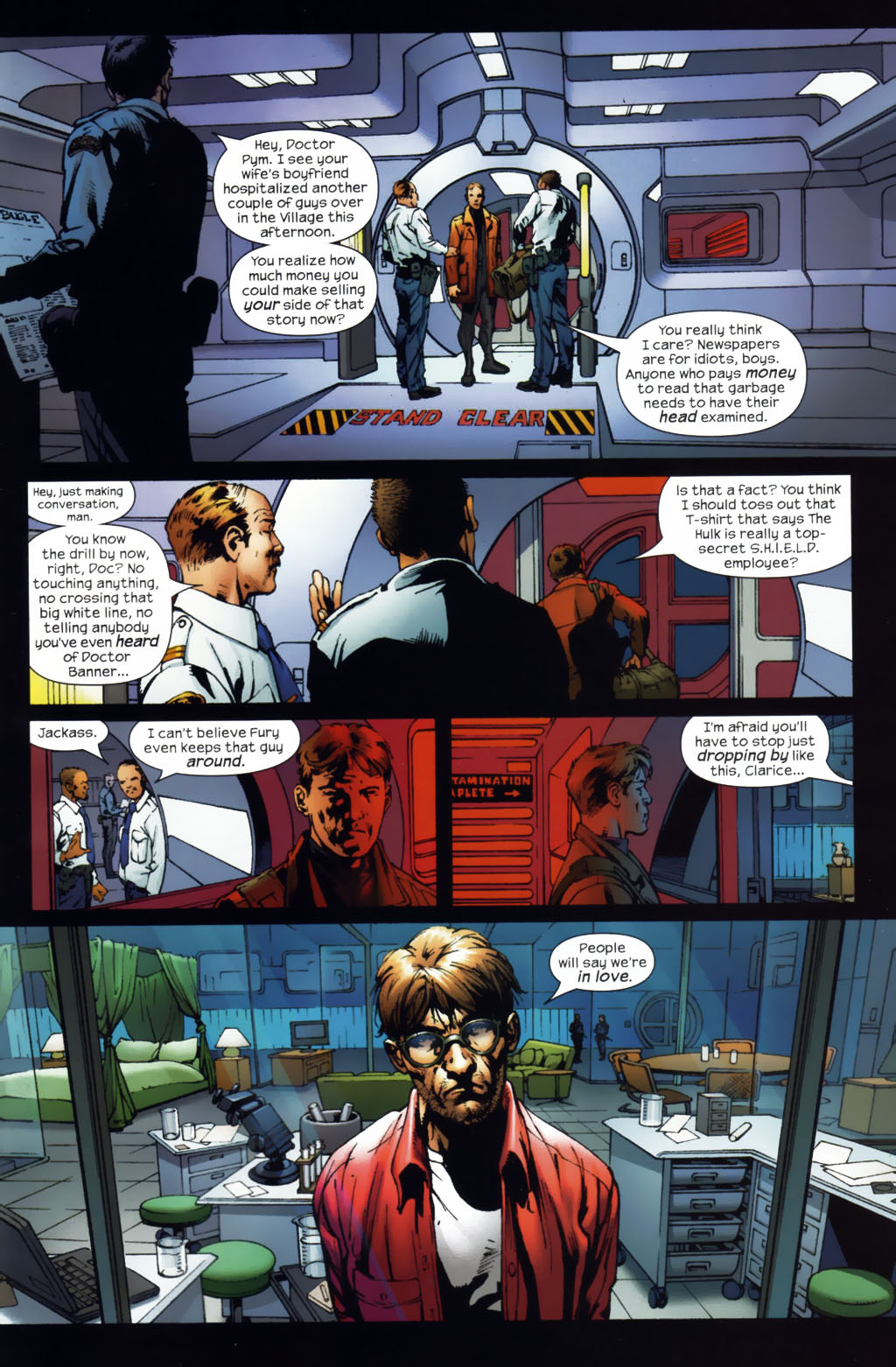 Read online Ultimates 2 comic -  Issue #1 - 16