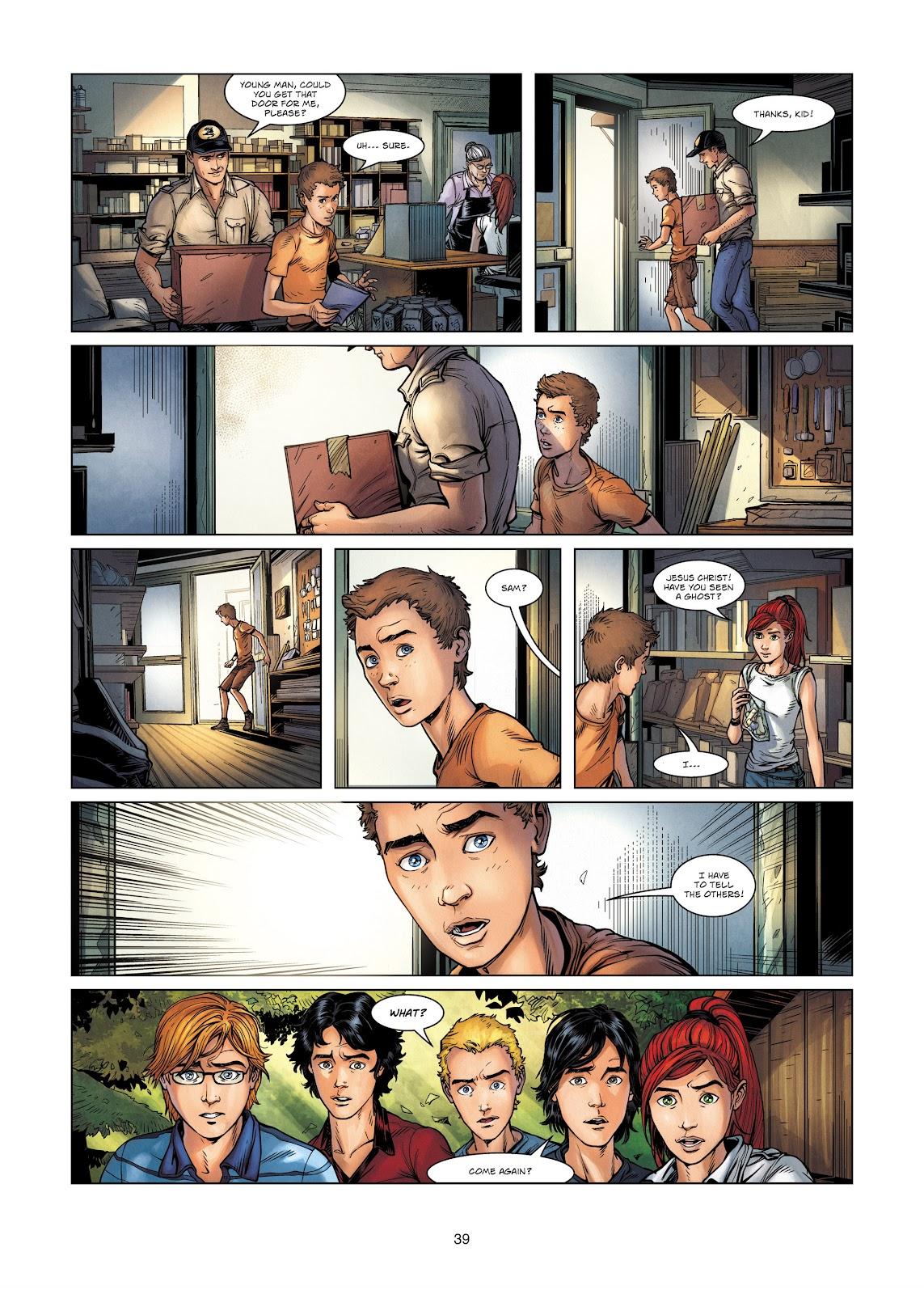 Read online Vigilantes comic -  Issue #2 - 39