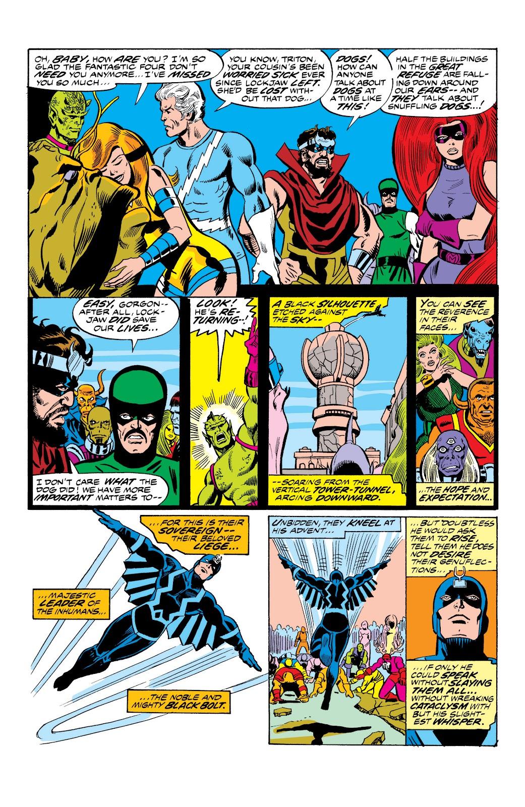 Read online Marvel Masterworks: The Inhumans comic -  Issue # TPB 2 (Part 1) - 50