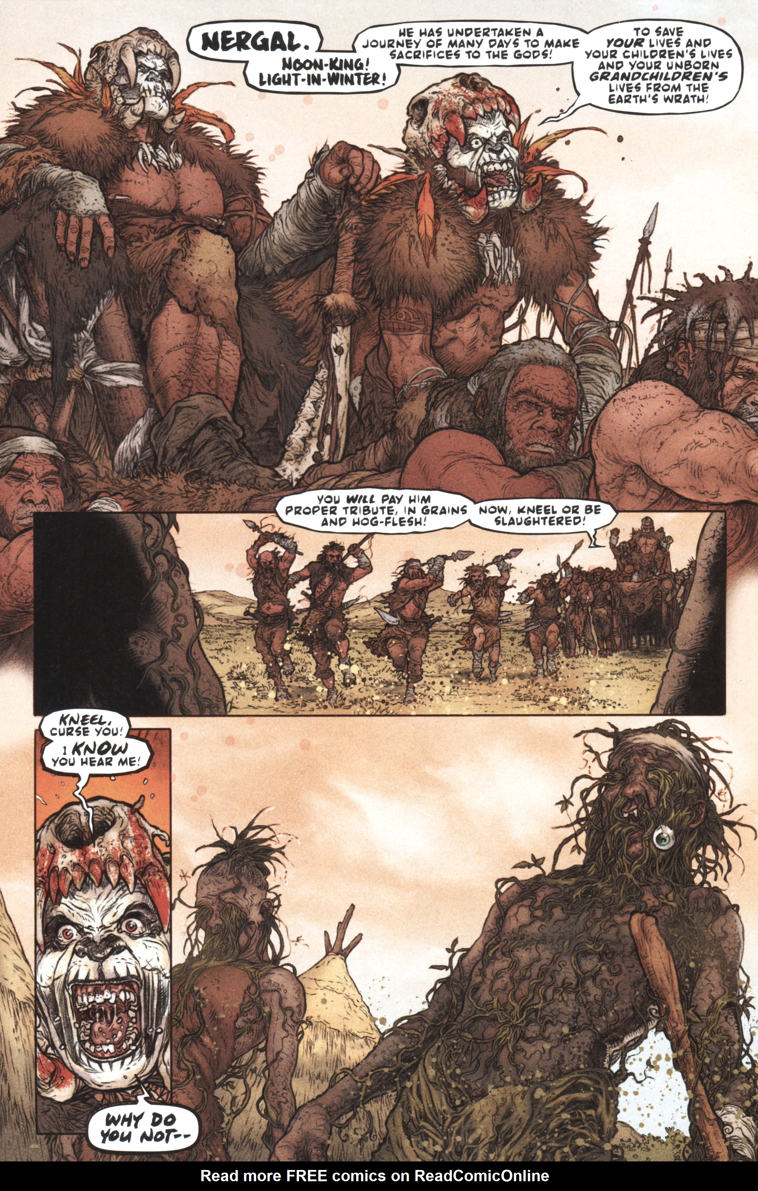 Read online Book of Death: Legends of the Geomancer comic -  Issue #1 - 6