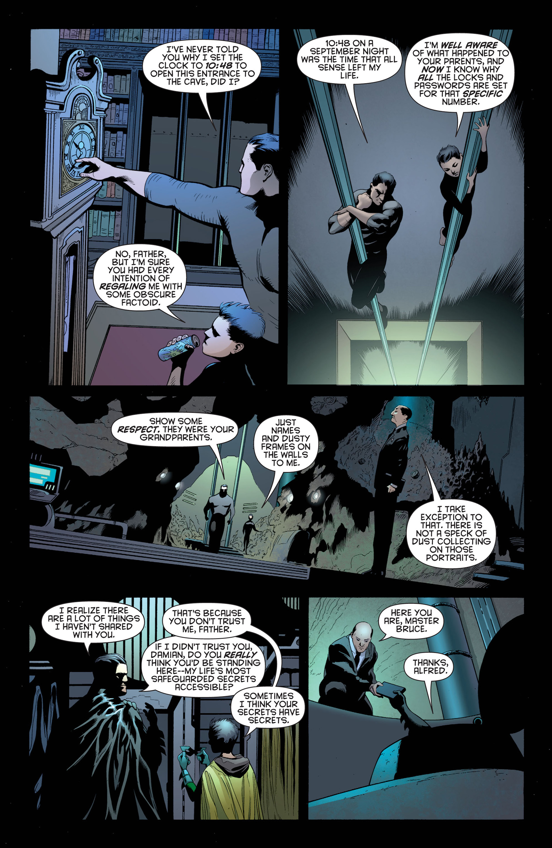 Read online Batman and Robin (2011) comic -  Issue #1 - 8