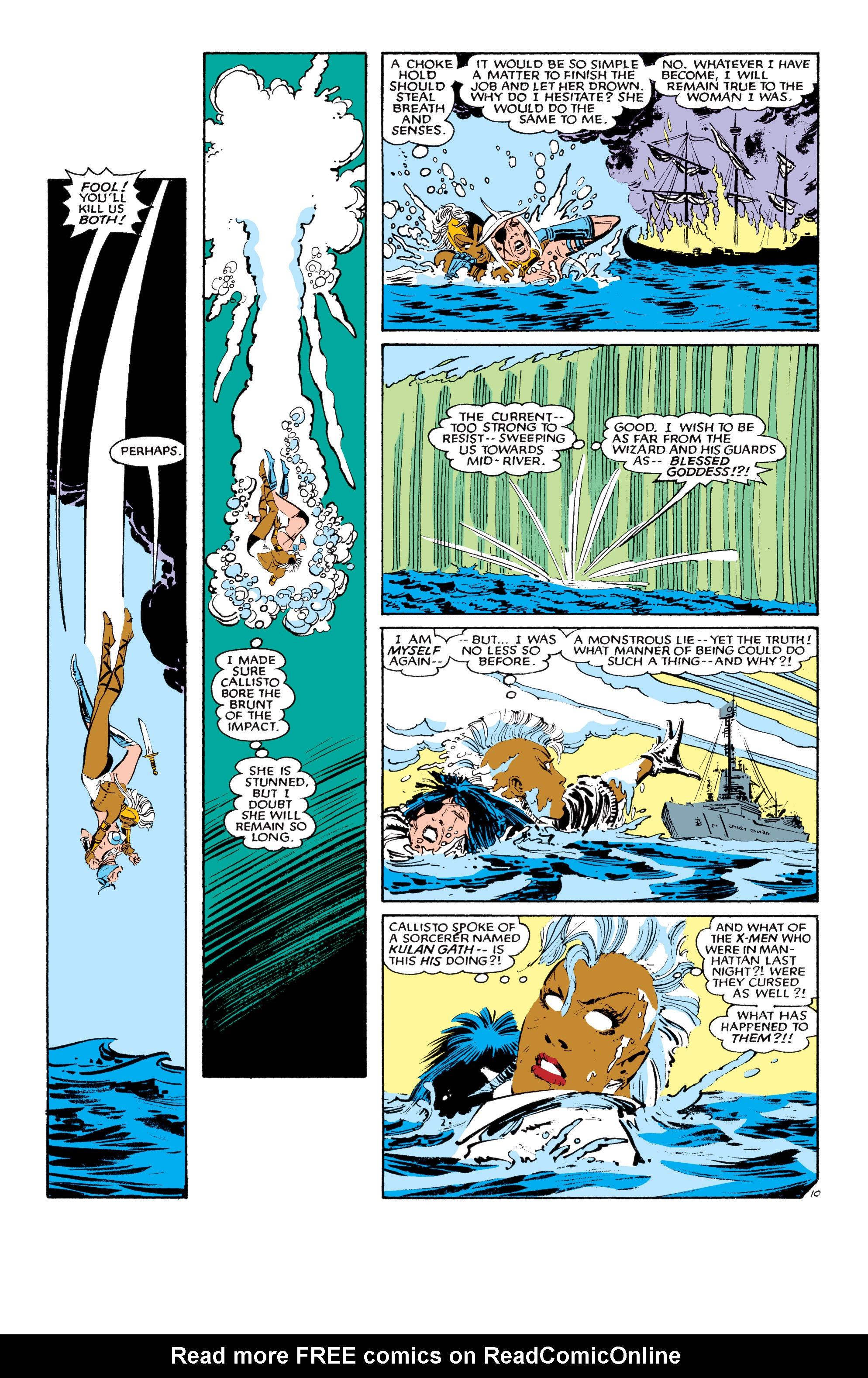 Read online Uncanny X-Men (1963) comic -  Issue #190 - 10