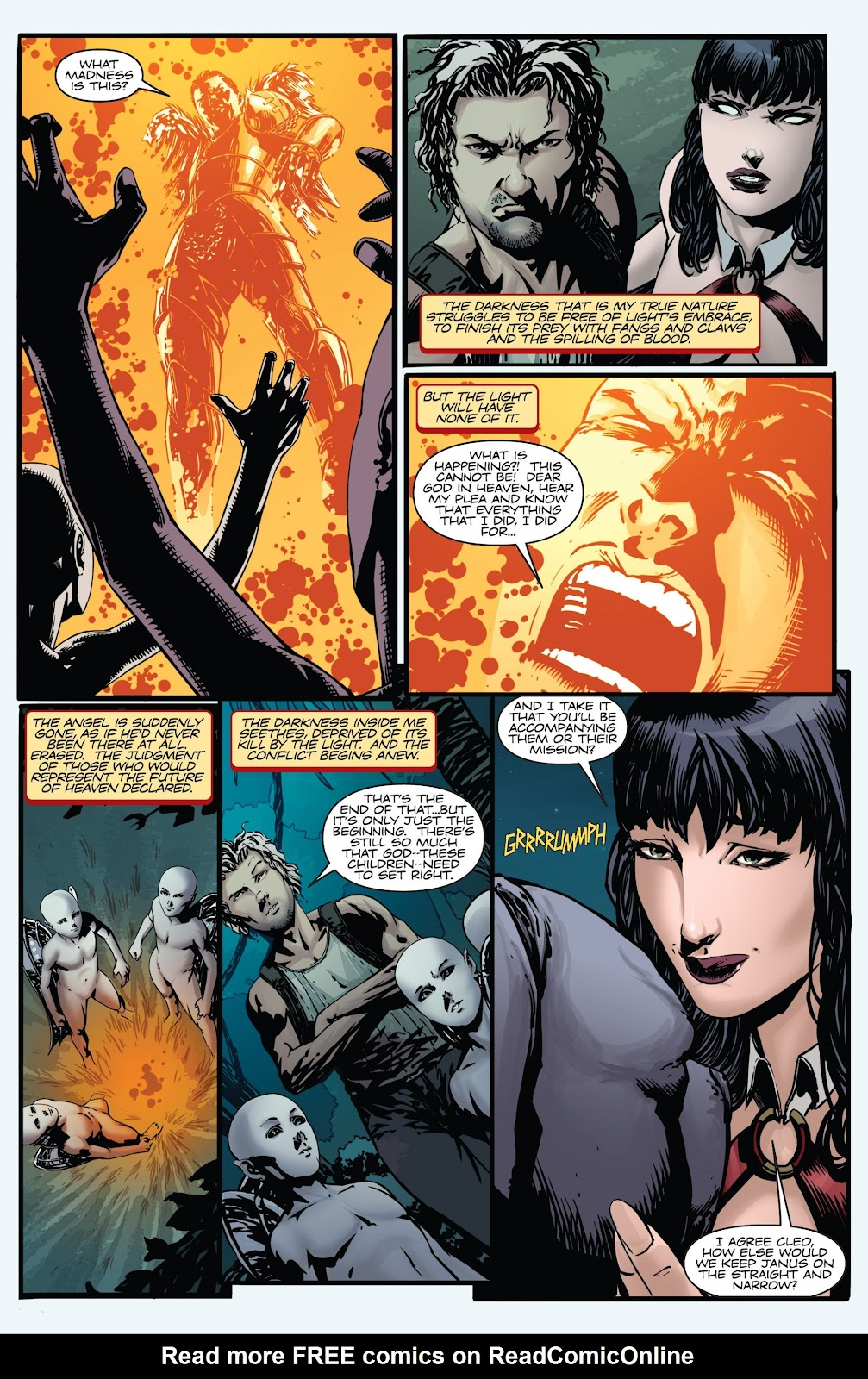 Read online Vampirella Strikes comic -  Issue #6 - 28