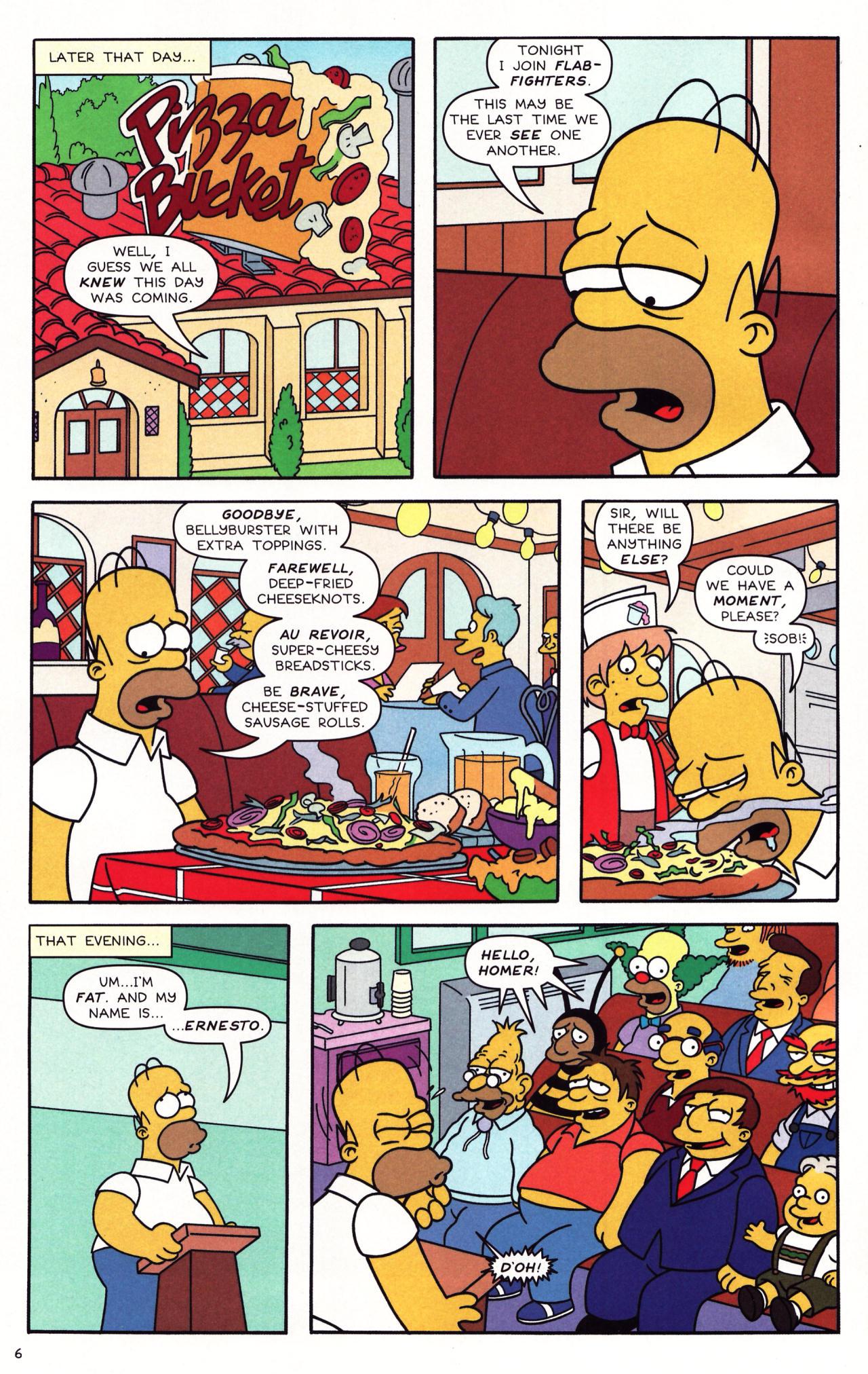 Read online Simpsons Comics comic -  Issue #137 - 6