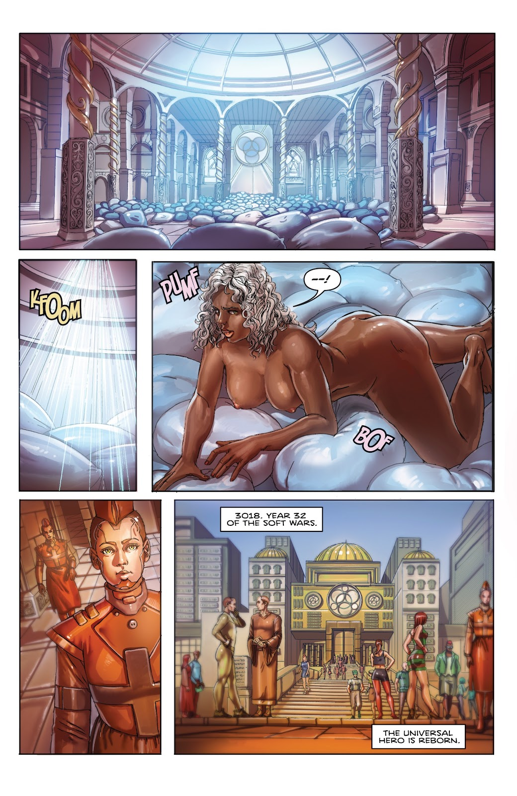 Read online Taarna comic -  Issue #4 - 25