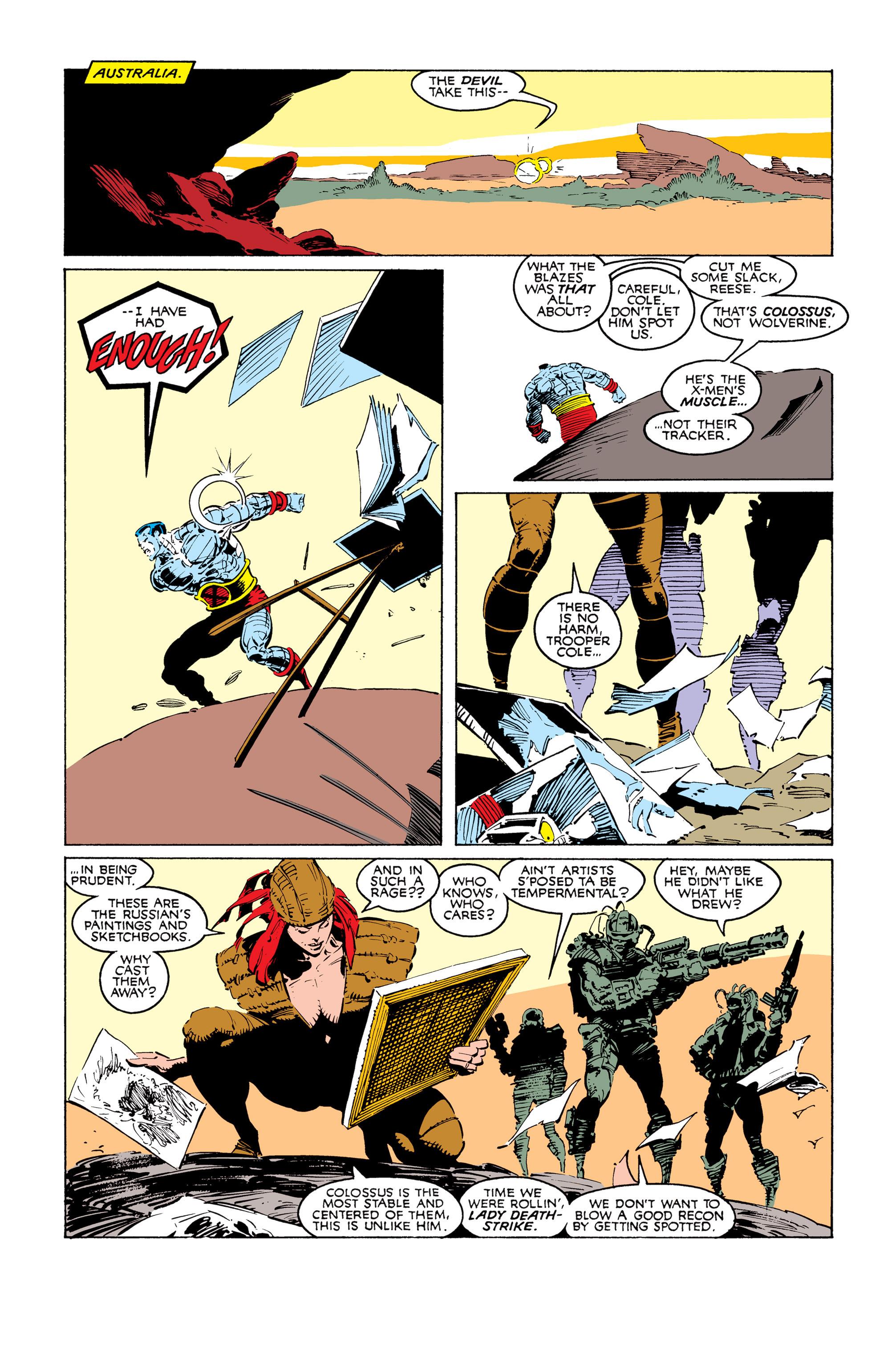 Read online Uncanny X-Men (1963) comic -  Issue #249 - 9