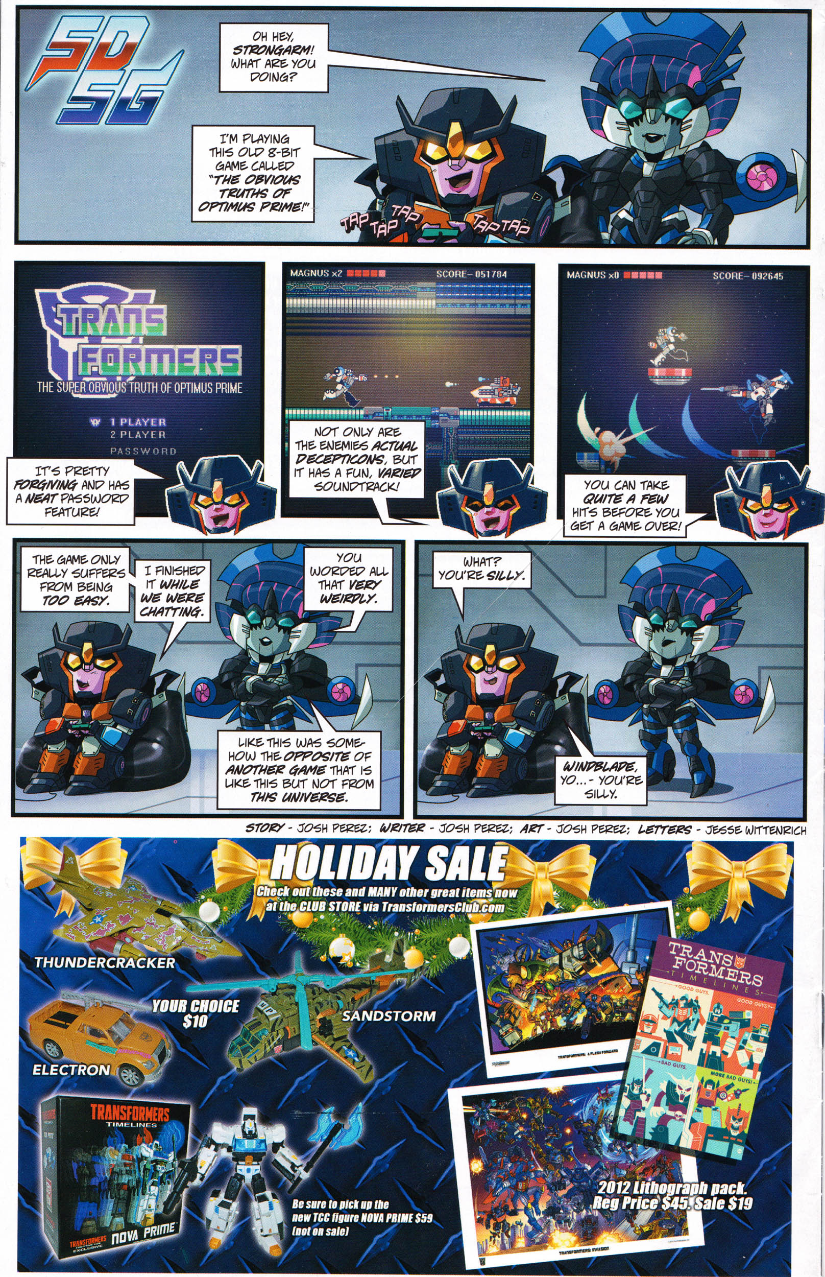 Read online Transformers: Collectors' Club comic -  Issue #66 - 16