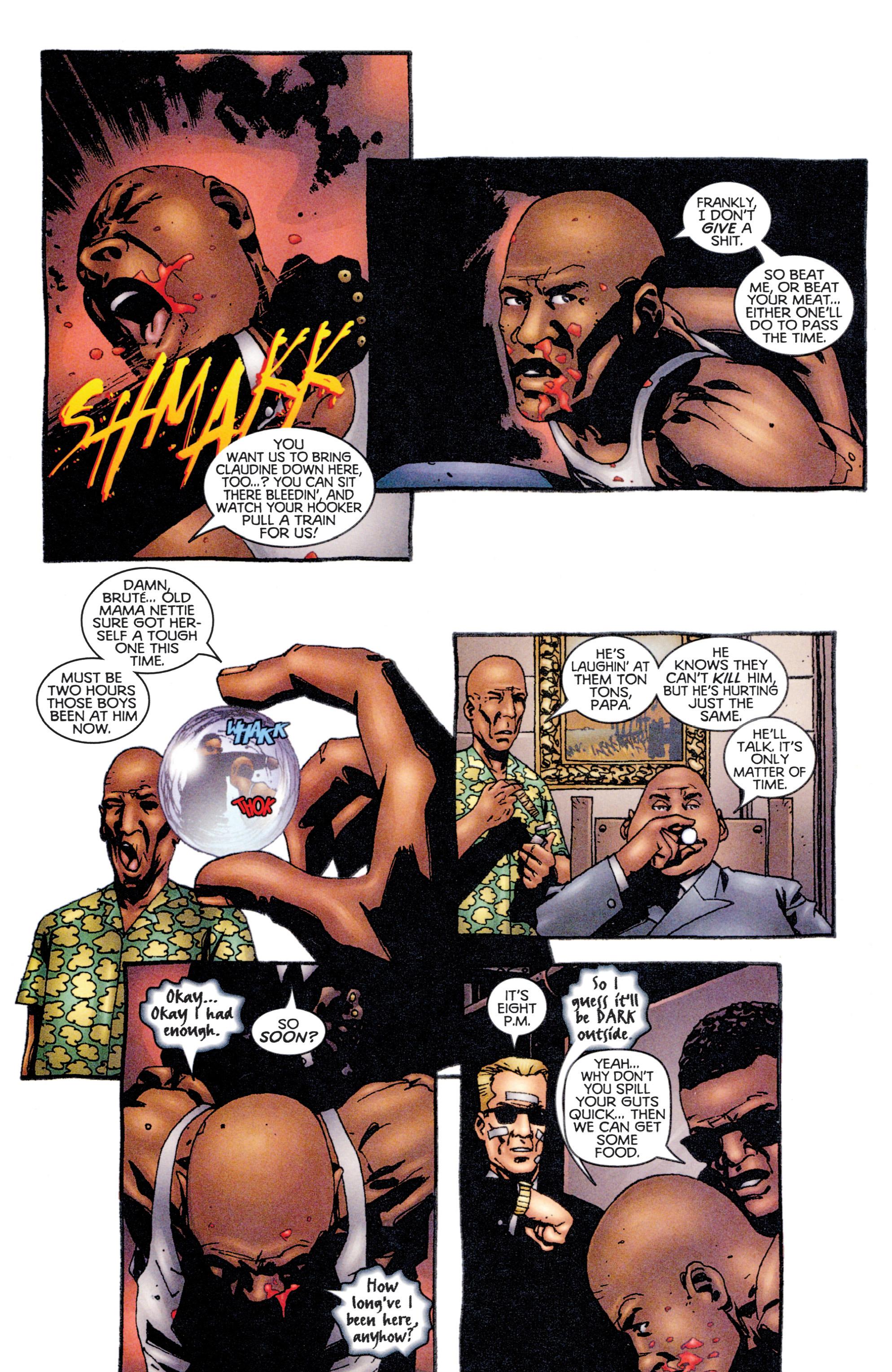 Read online Shadowman (1997) comic -  Issue #12 - 13