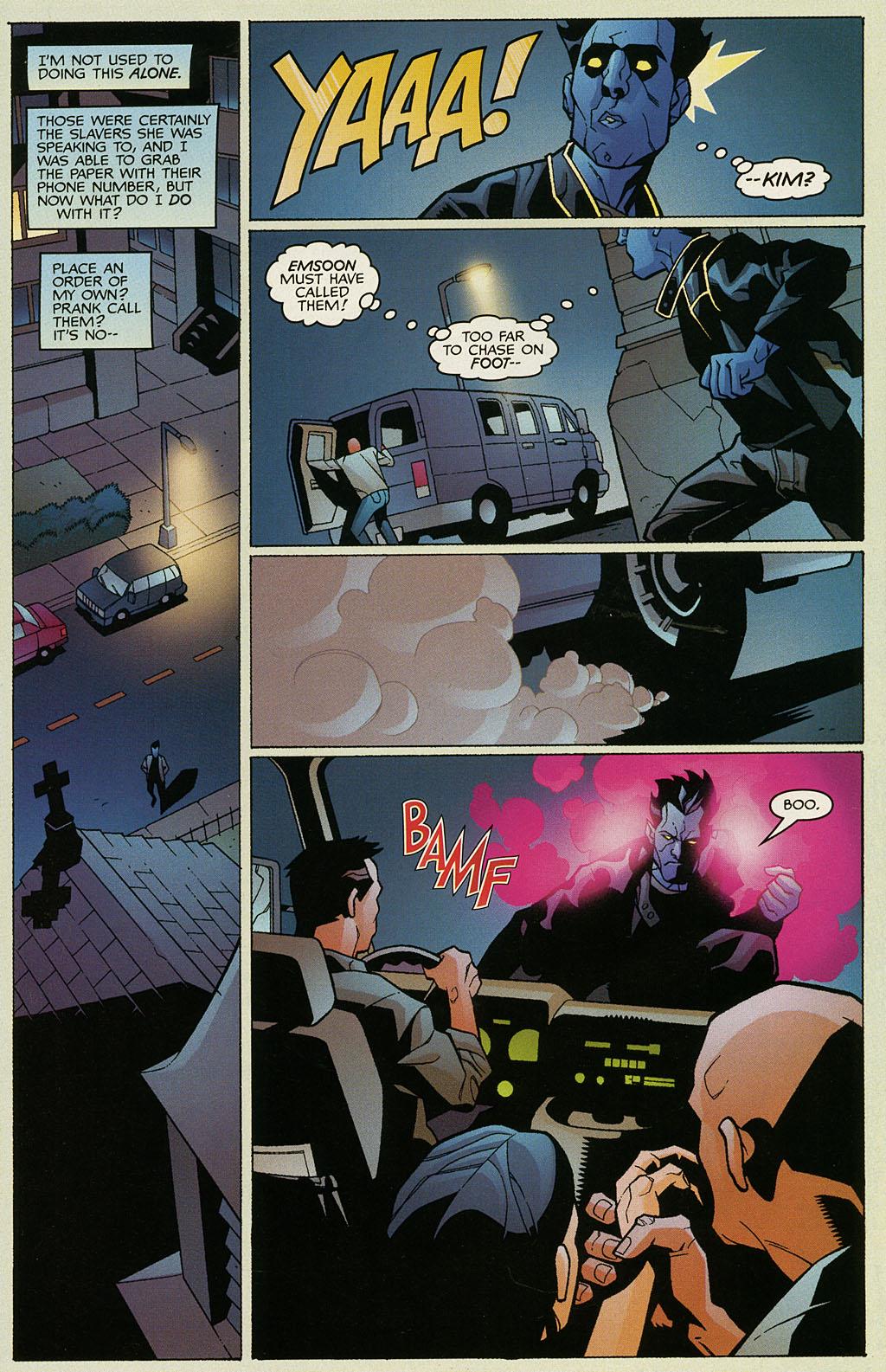 Read online Nightcrawler (2002) comic -  Issue #1 - 18