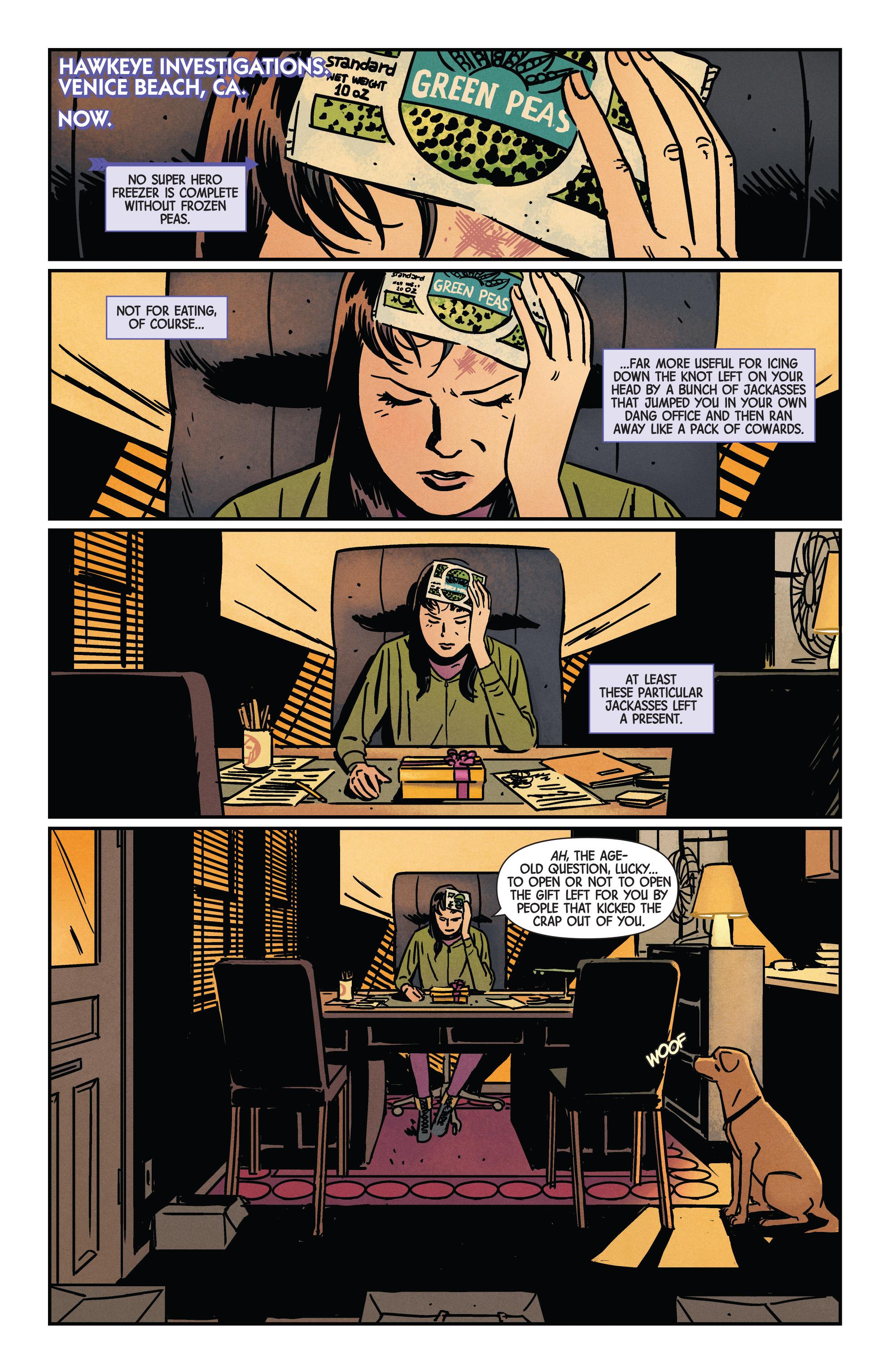 Read online Hawkeye (2016) comic -  Issue #7 - 3