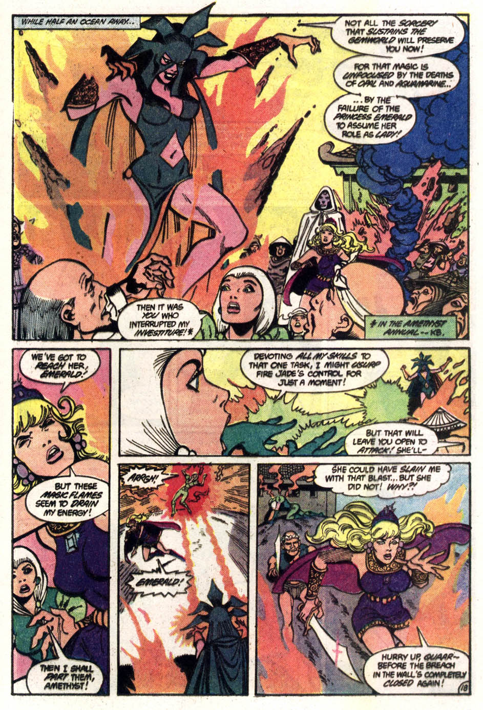Read online Amethyst (1985) comic -  Issue #3 - 19