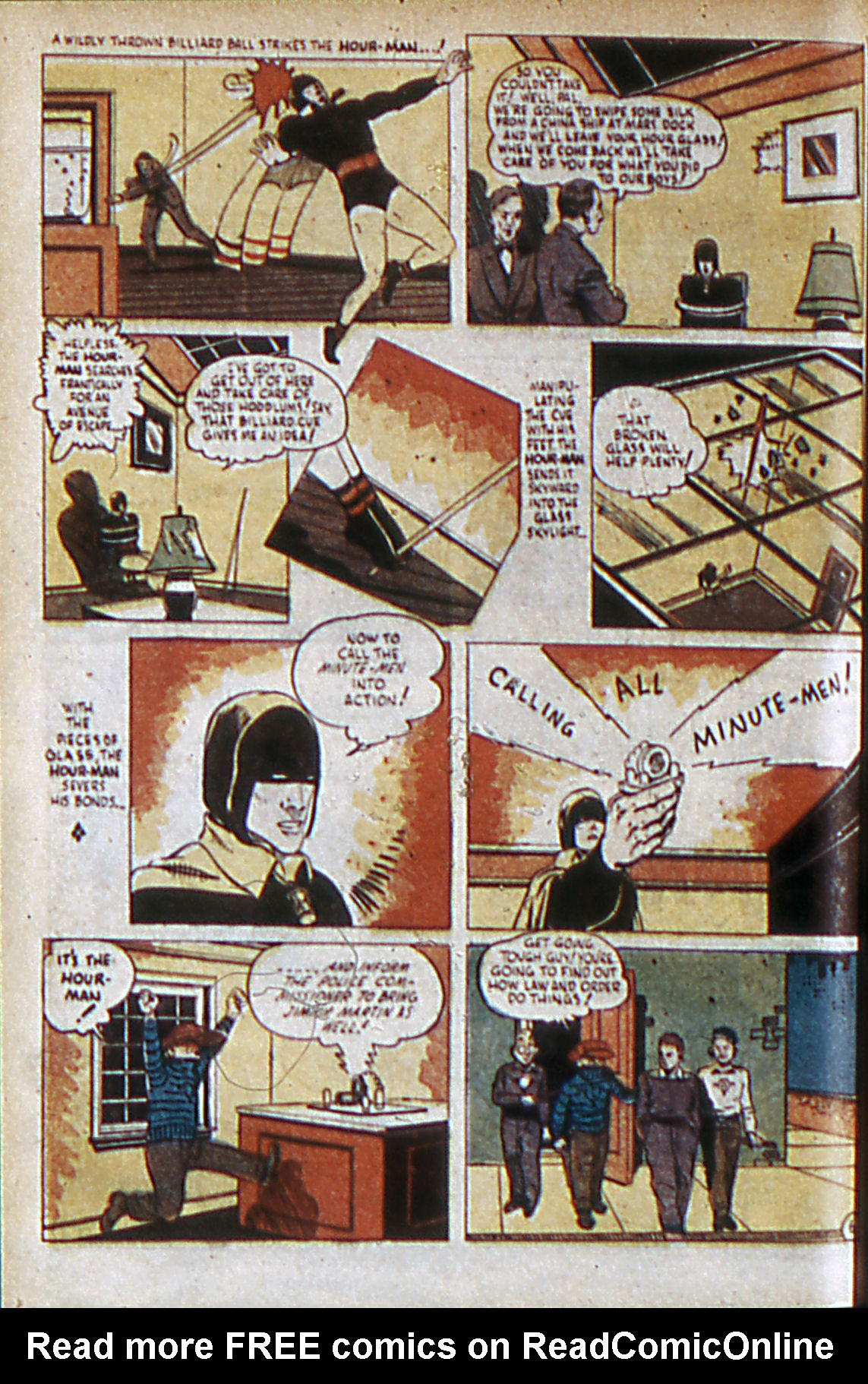 Read online Adventure Comics (1938) comic -  Issue #60 - 9