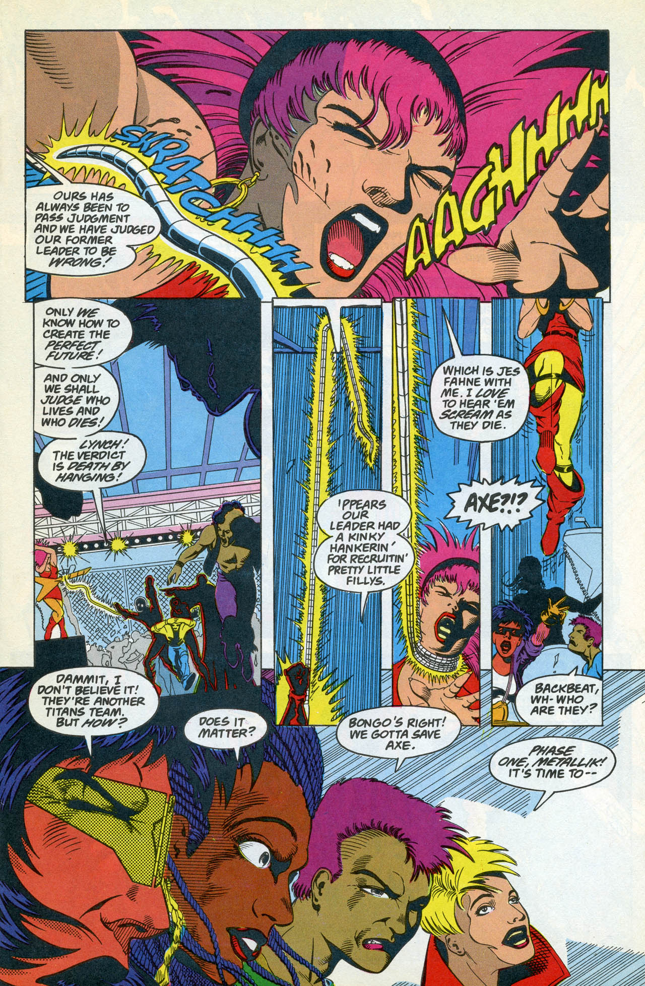 Read online Team Titans comic -  Issue #4 - 15
