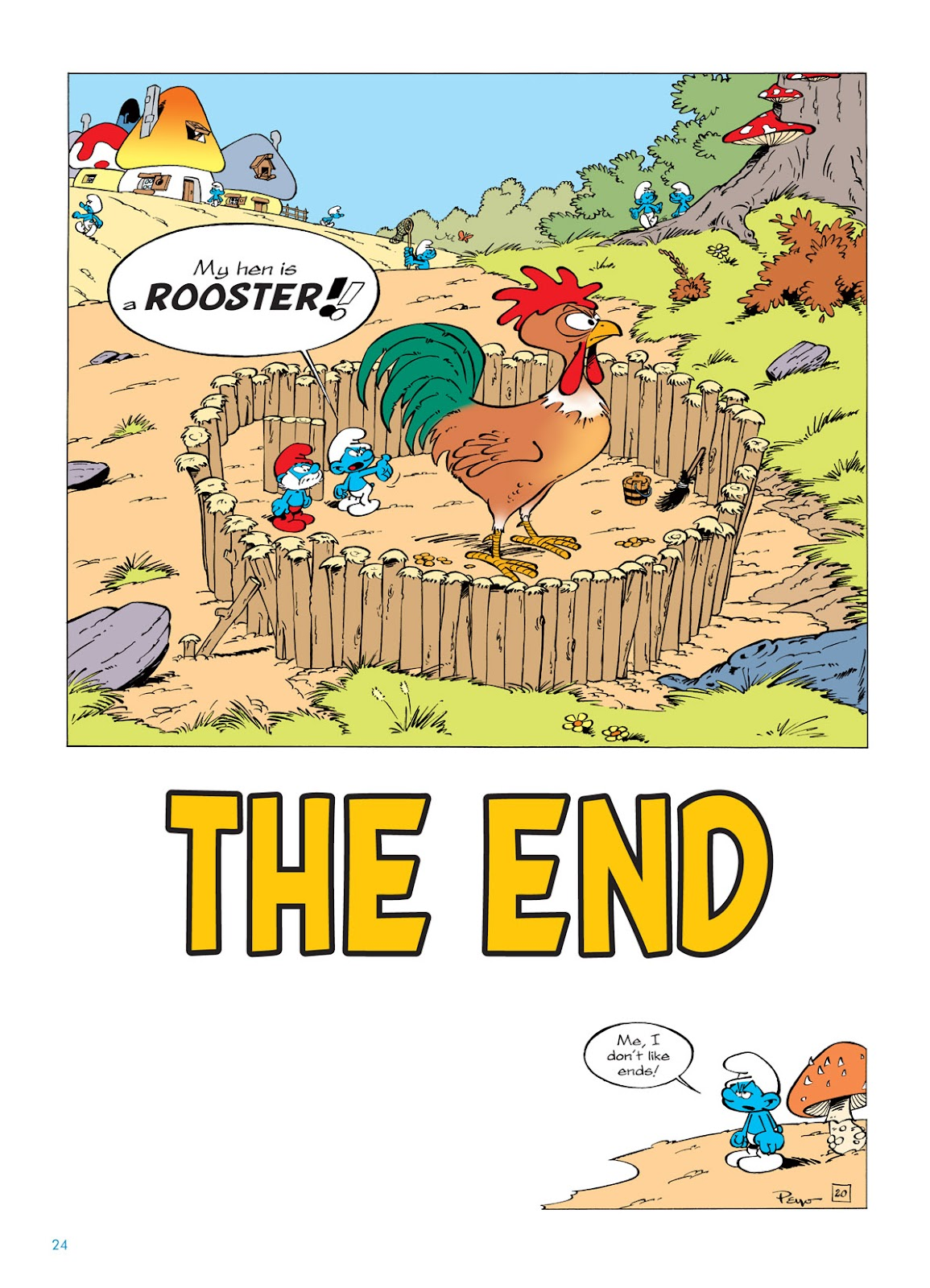 Read online The Smurfs comic -  Issue #5 - 24