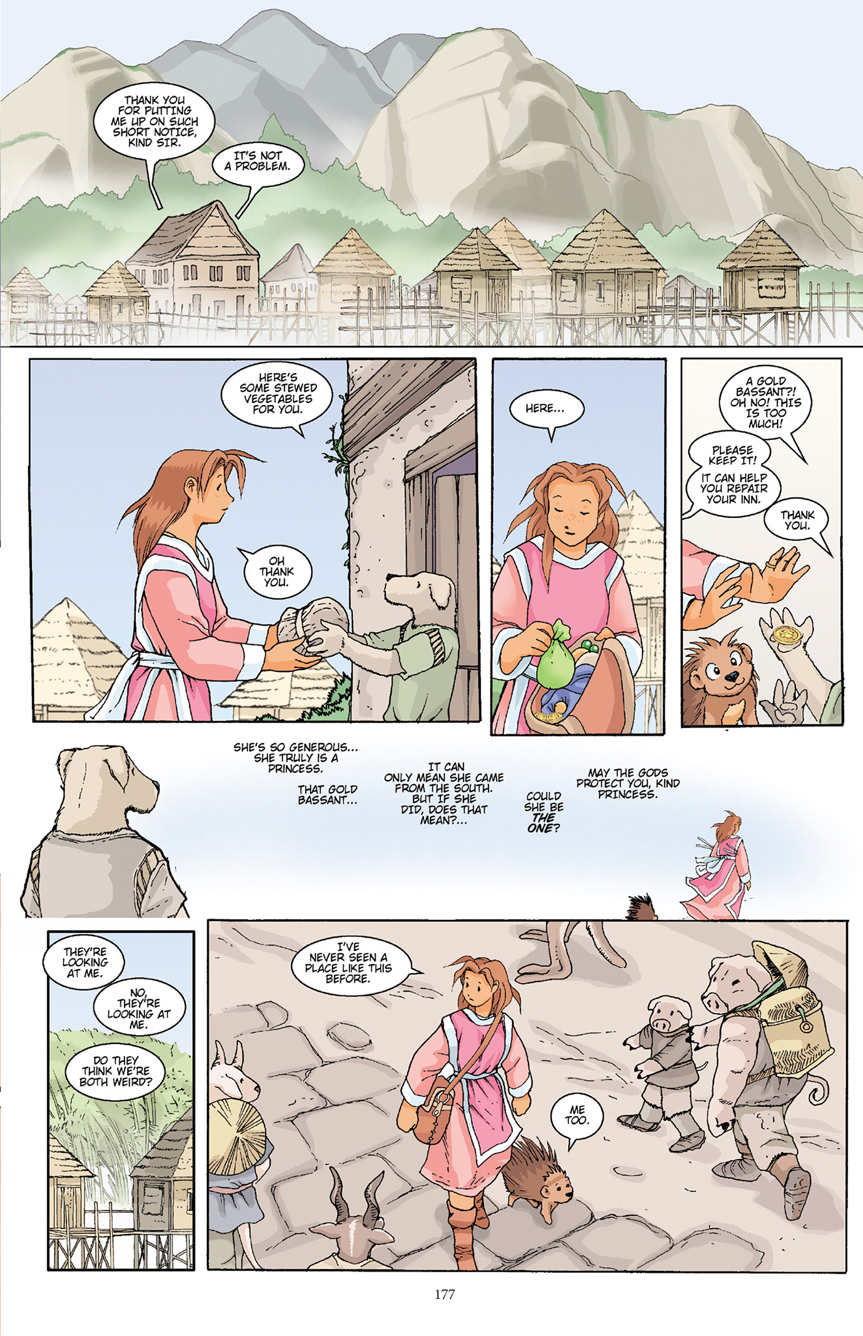 Read online Courageous Princess comic -  Issue # TPB 1 - 175
