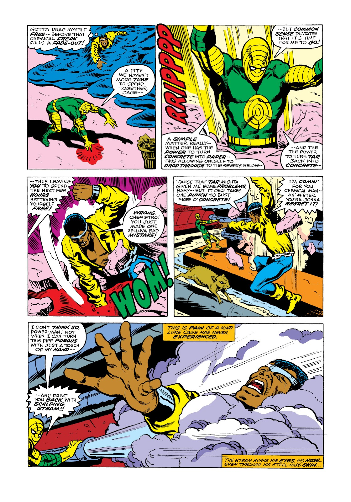 Read online Marvel Masterworks: Luke Cage, Power Man comic -  Issue # TPB 3 (Part 2) - 47